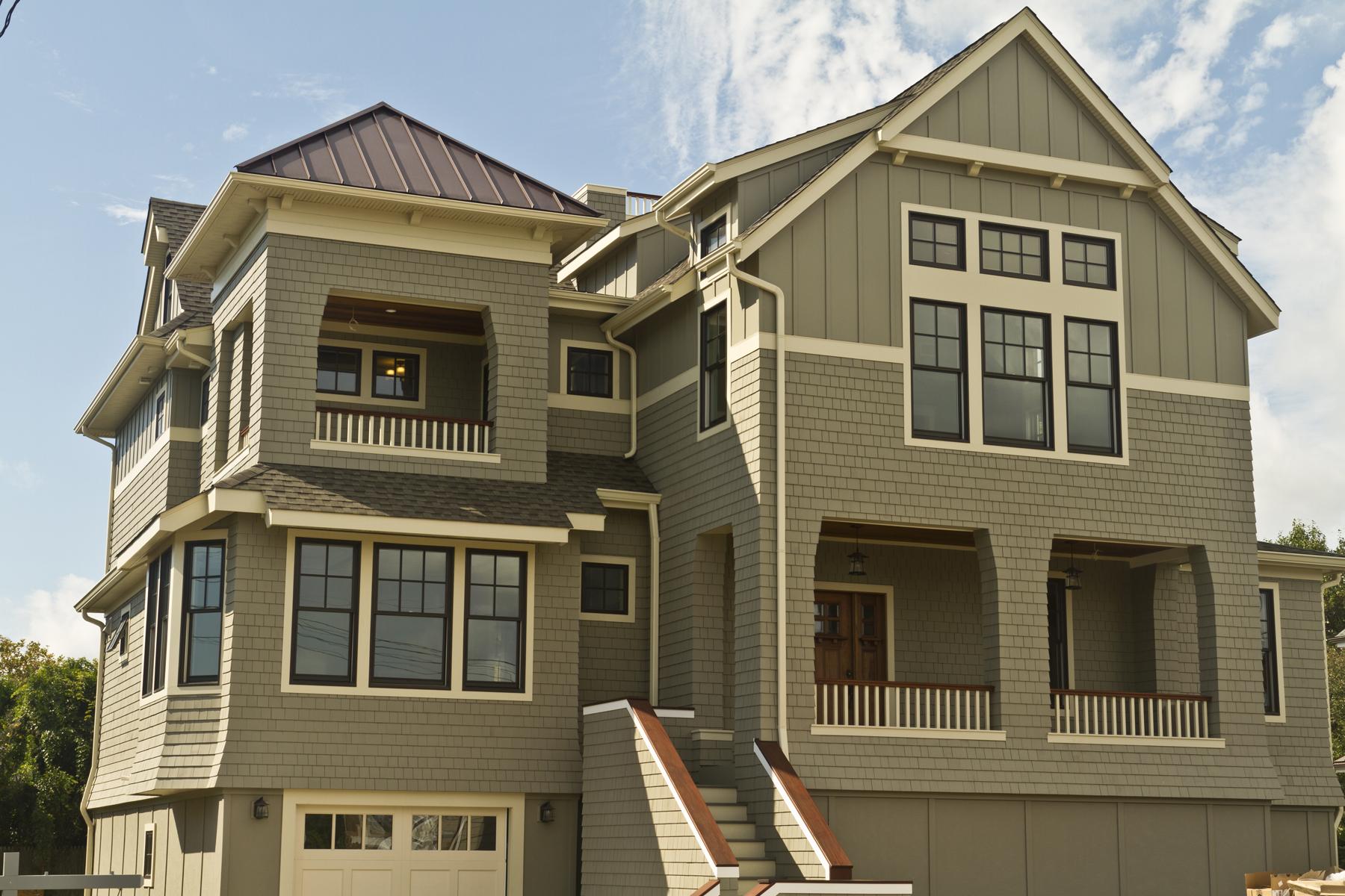 Maison unifamiliale pour l Vente à Newly Constructed Custom Designed Home! 45 Strickland Street Bay Head, New Jersey, 08742 États-Unis