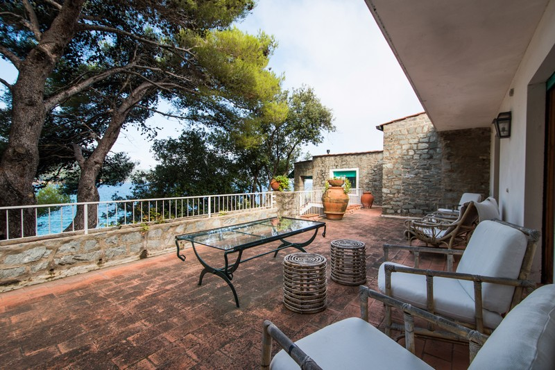 Single Family Home for Sale at Elba's style Villa with private beach Via di Spartaia Marciana Marina, 57030 Italy