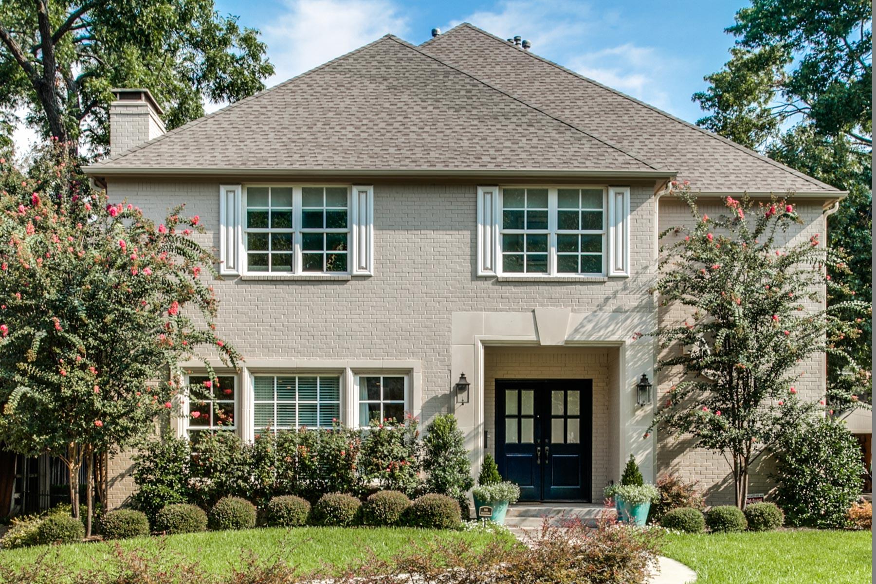 Maison unifamiliale pour l Vente à Classic Greenway Crest Home 5317 Emerson Avenue Dallas, Texas, 75209 États-Unis