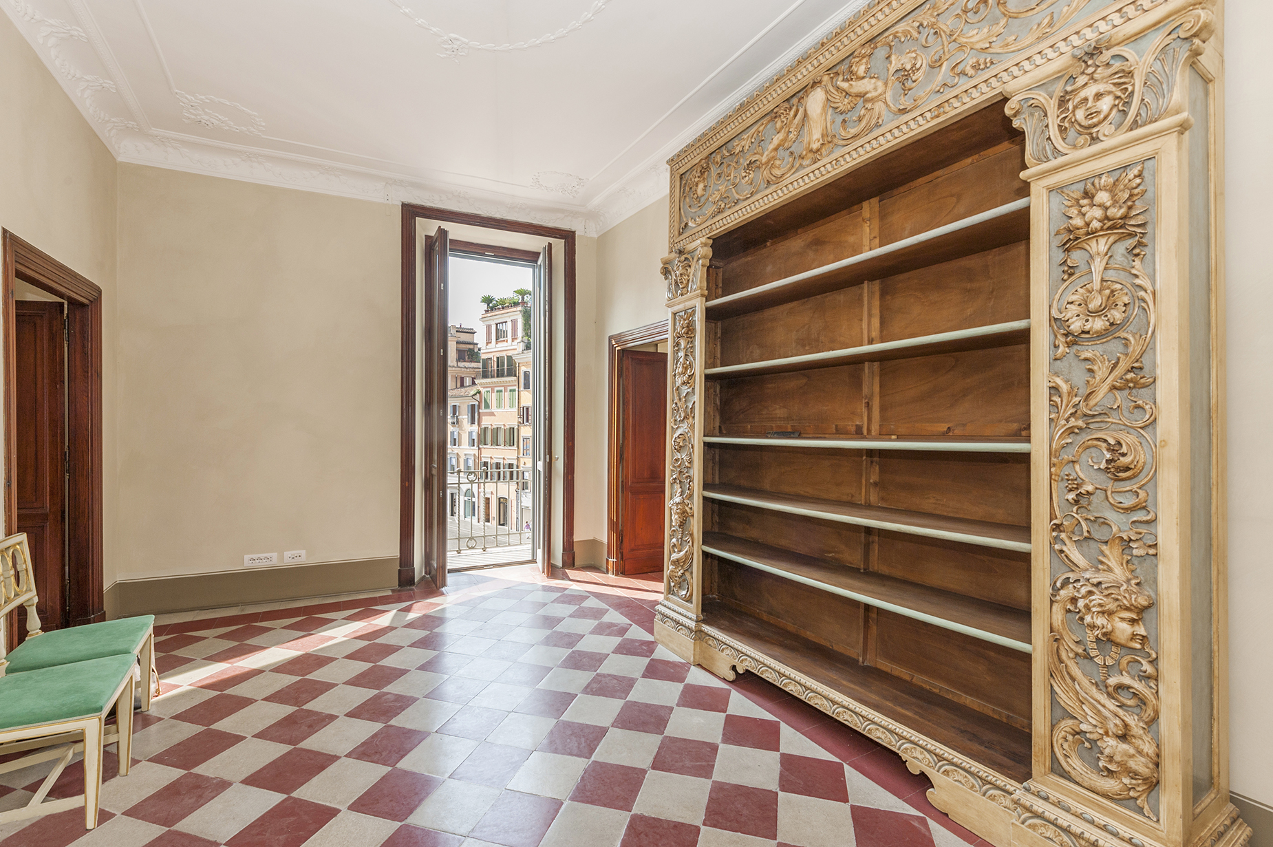 Apartment for Rent at Magnificent apartment overlooking Piazza di Spagna Rome, Italy