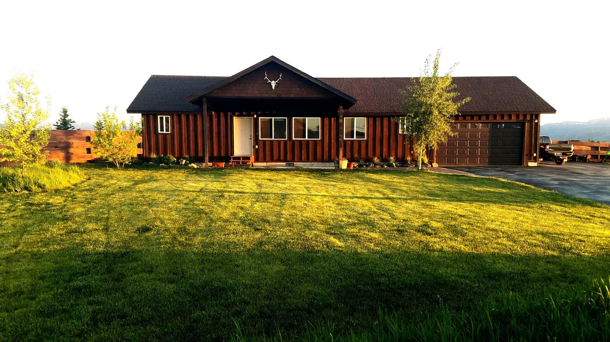 Single Family Home for Sale at Driggs Home - 1 Acre - No CCR's 759 Teague Avenue Driggs, Idaho, 83422 Jackson Hole, United States