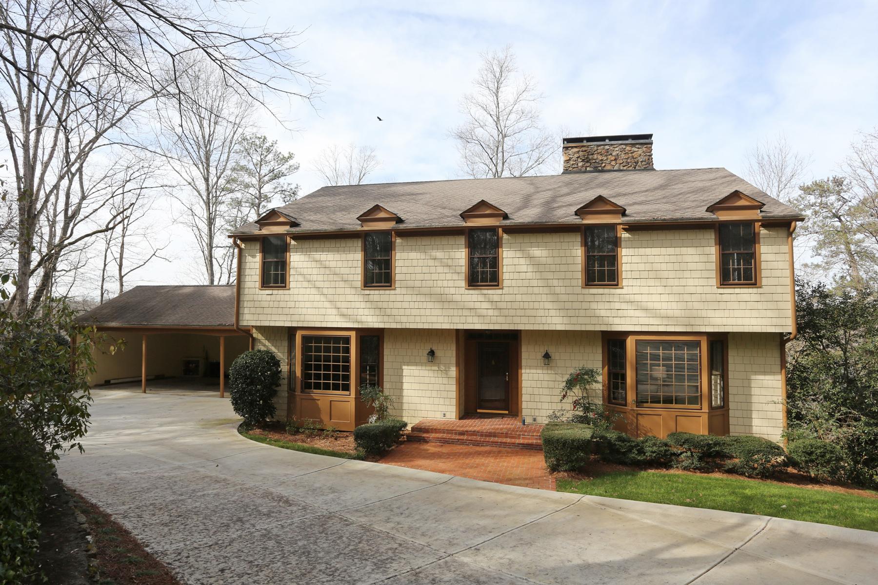 獨棟家庭住宅 為 出售 在 River Front In Sandy Springs 2095 River North Parkway Sandy Springs, 喬治亞州, 30328 美國