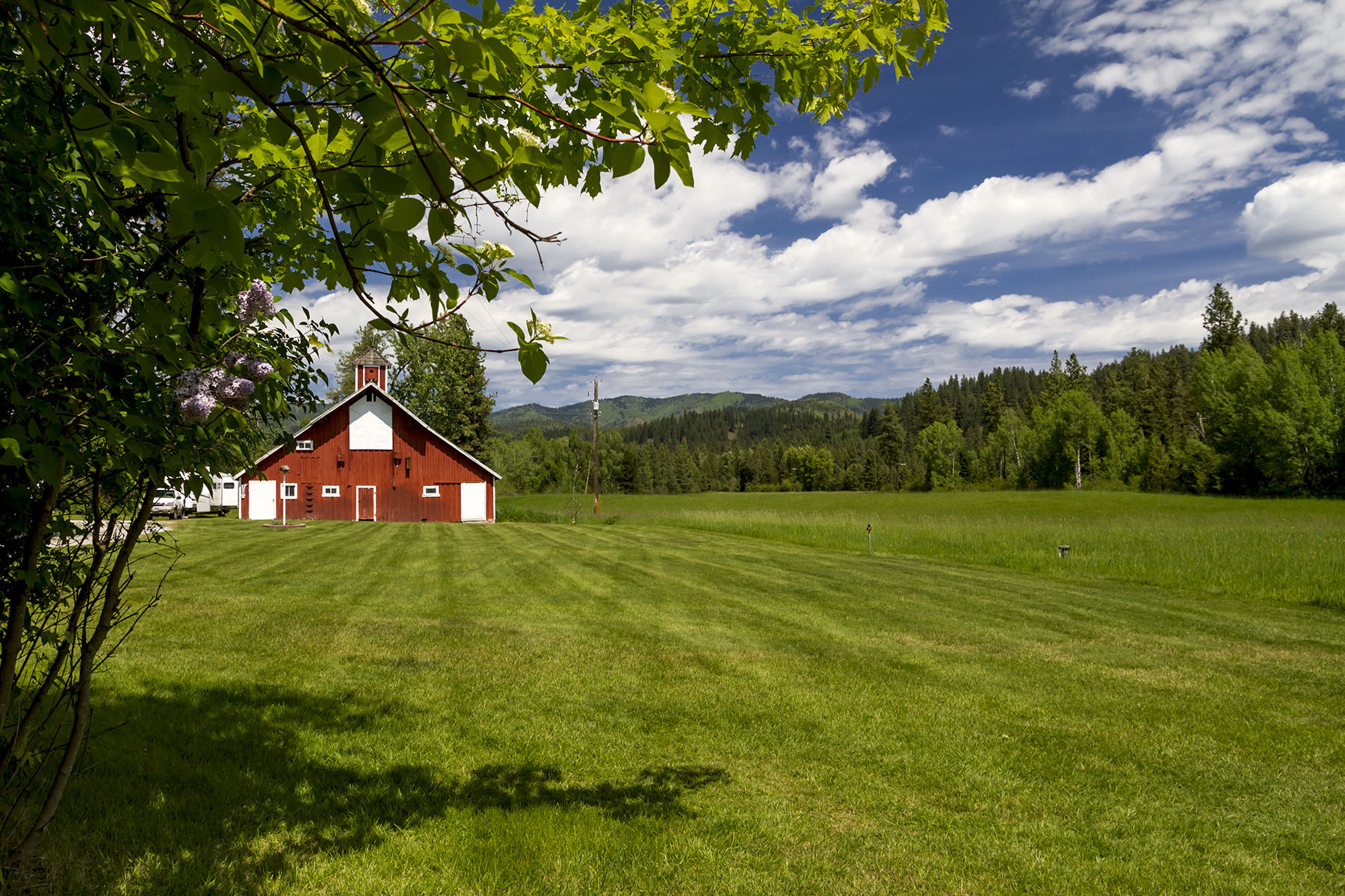 Single Family Home for Sale at Beautiful ranch property 267 Le Clerc Rd Oldtown, Idaho, 83822 United States