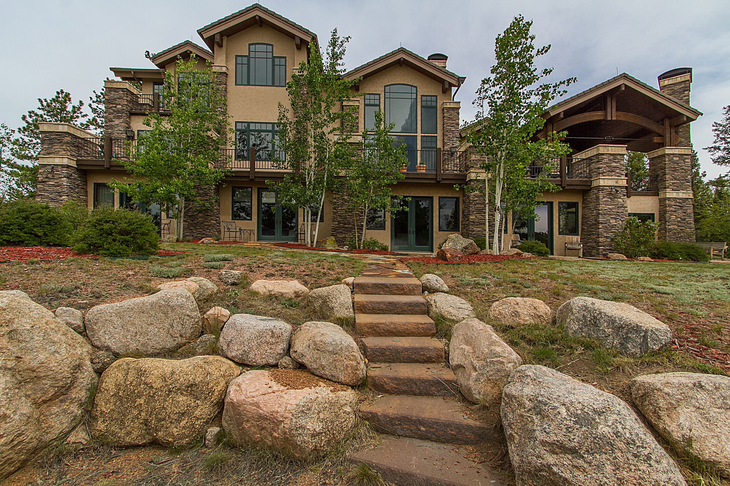 Single Family Home for Active at Divide Home Features Unforgettable Views of Pikes Peak 4145 Omer Road Divide, Colorado 80814 United States