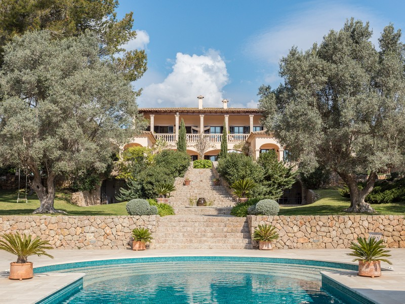 Multi-Family Home for Sale at Elegance and character in peaceful Esporlas Esporles, Mallorca, 07190 Spain