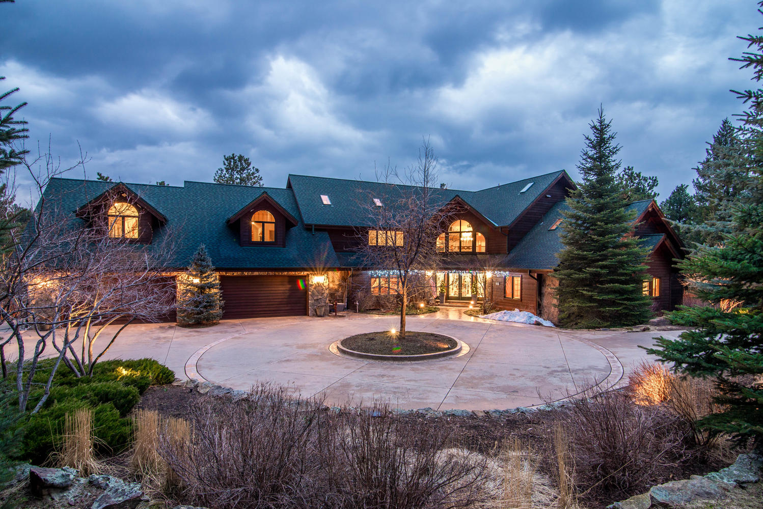 Single Family Home for Sale at Majestic Estate Nestled on 42.42 Acres 28775 Cragmont Drive Evergreen, Colorado, 80439 United States