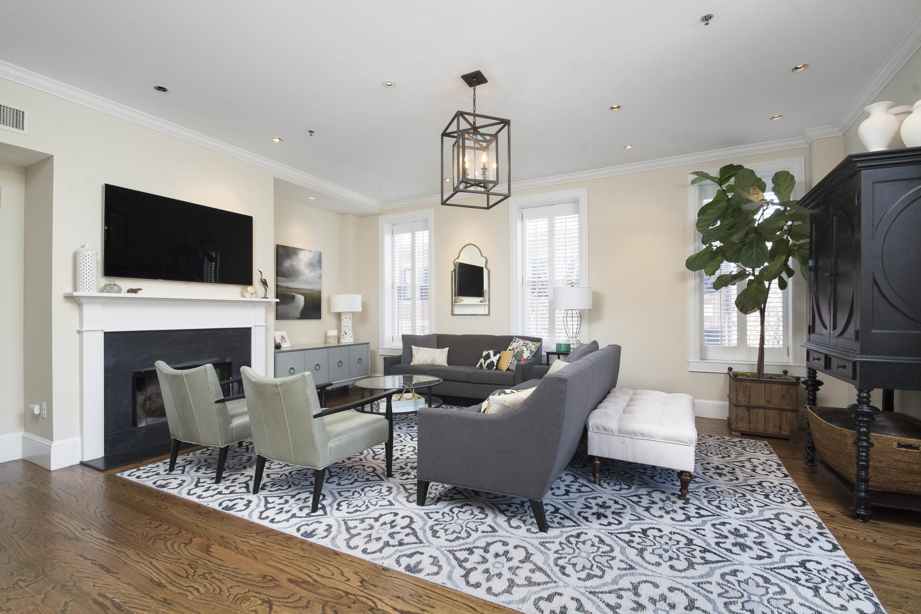 Кооперативная квартира для того Продажа на 1597 Washington St Condo Trust 14 Rutland Street Unit 14 Boston, Массачусетс, 02118 Соединенные Штаты