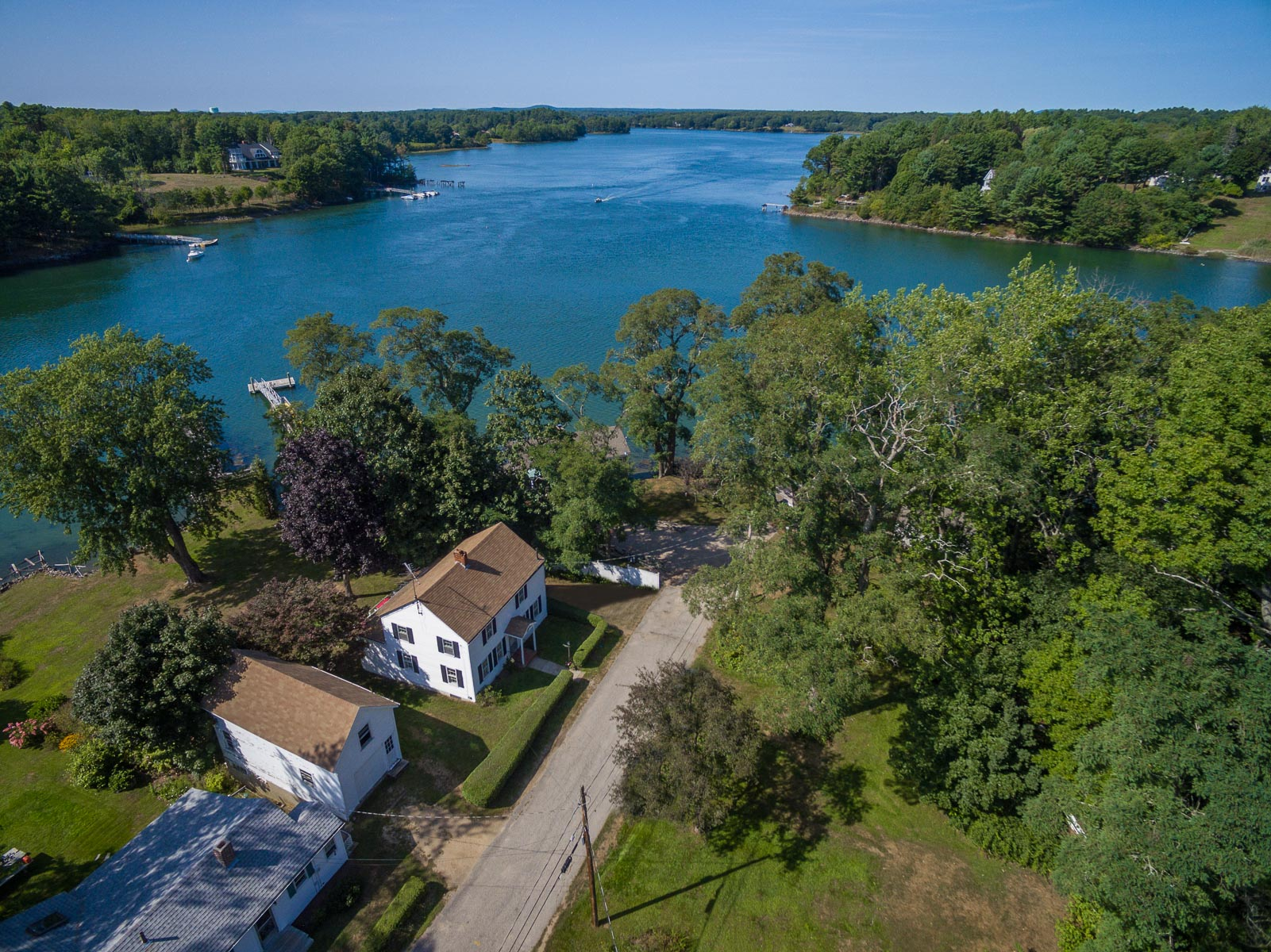 Single Family Home for Sale at Spruce Creek Waterfront 9 Duncan Way Kittery Point, Maine 03904 United States