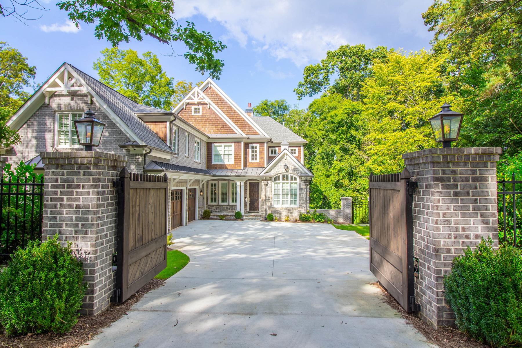 Tek Ailelik Ev için Satış at Superior Construction With Full Automation Throughout 1685 Mount Paran Road NW Buckhead, Atlanta, Georgia, 30327 Amerika Birleşik Devletleri