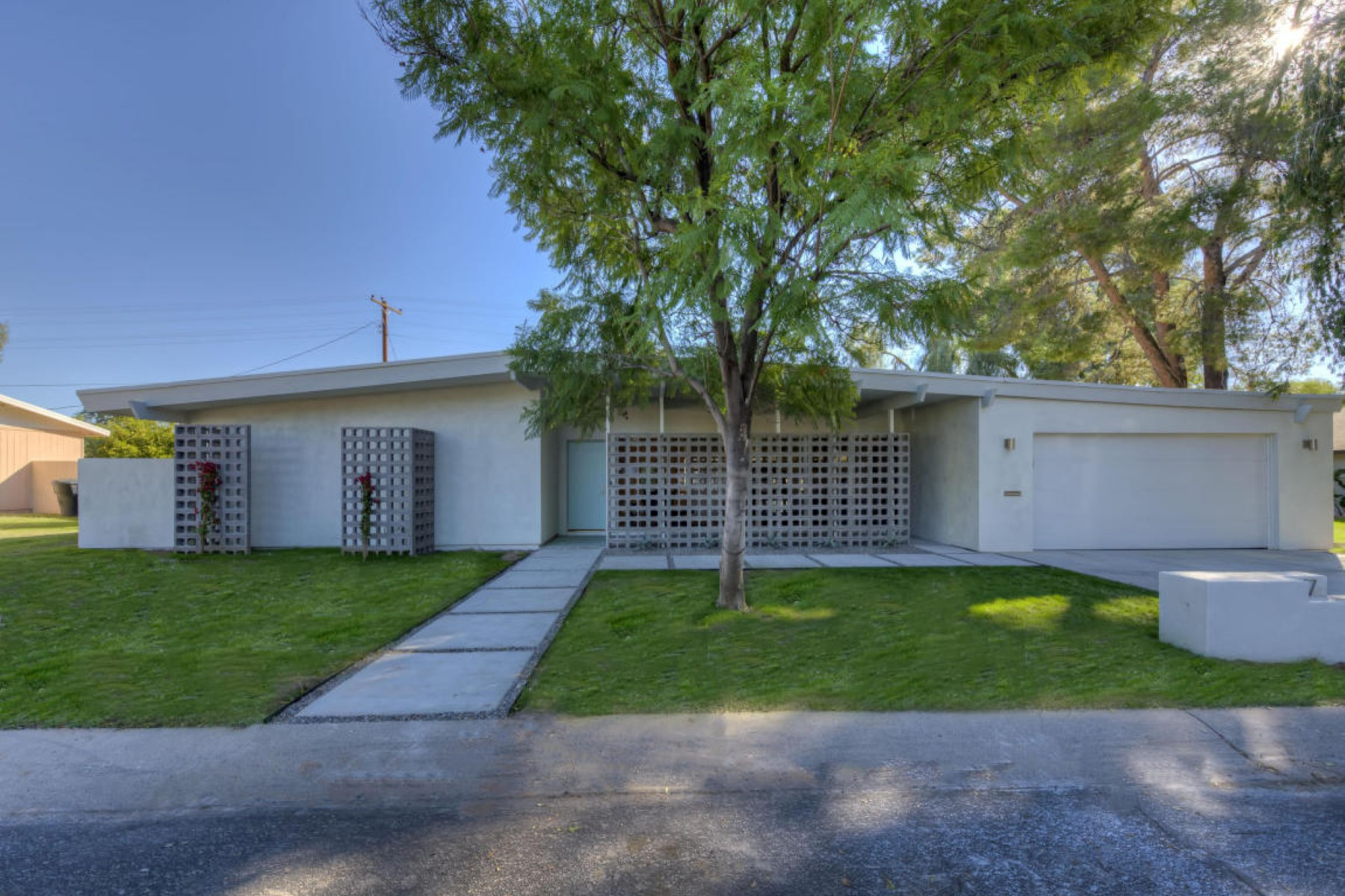 Property For Sale at Fresh mid-century modern style home