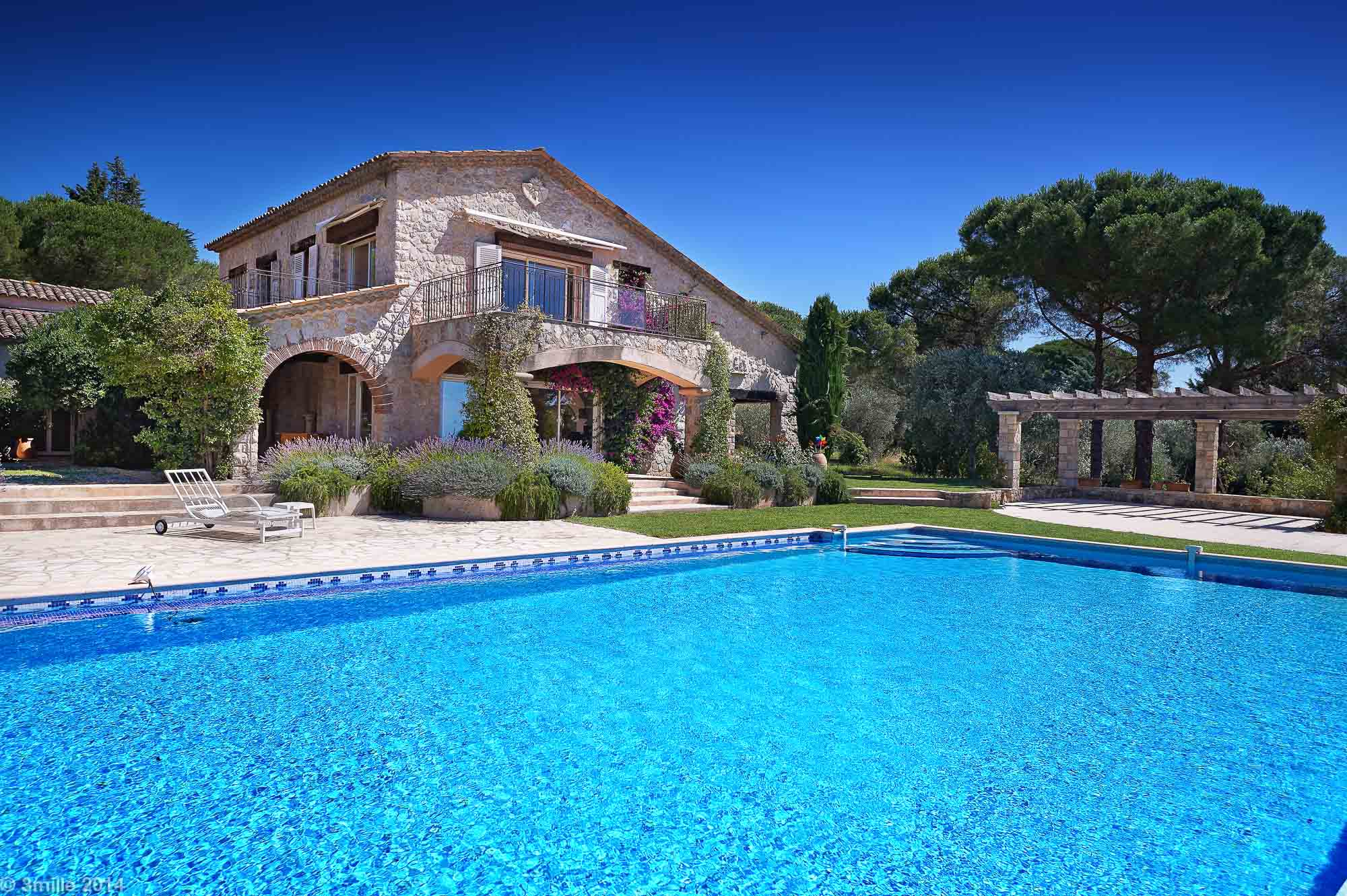 Single Family Home for Sale at Property of 15ha with amazing sea views in the hinterland of Cannes Grasse, Provence-Alpes-Cote D'Azur 06130 France
