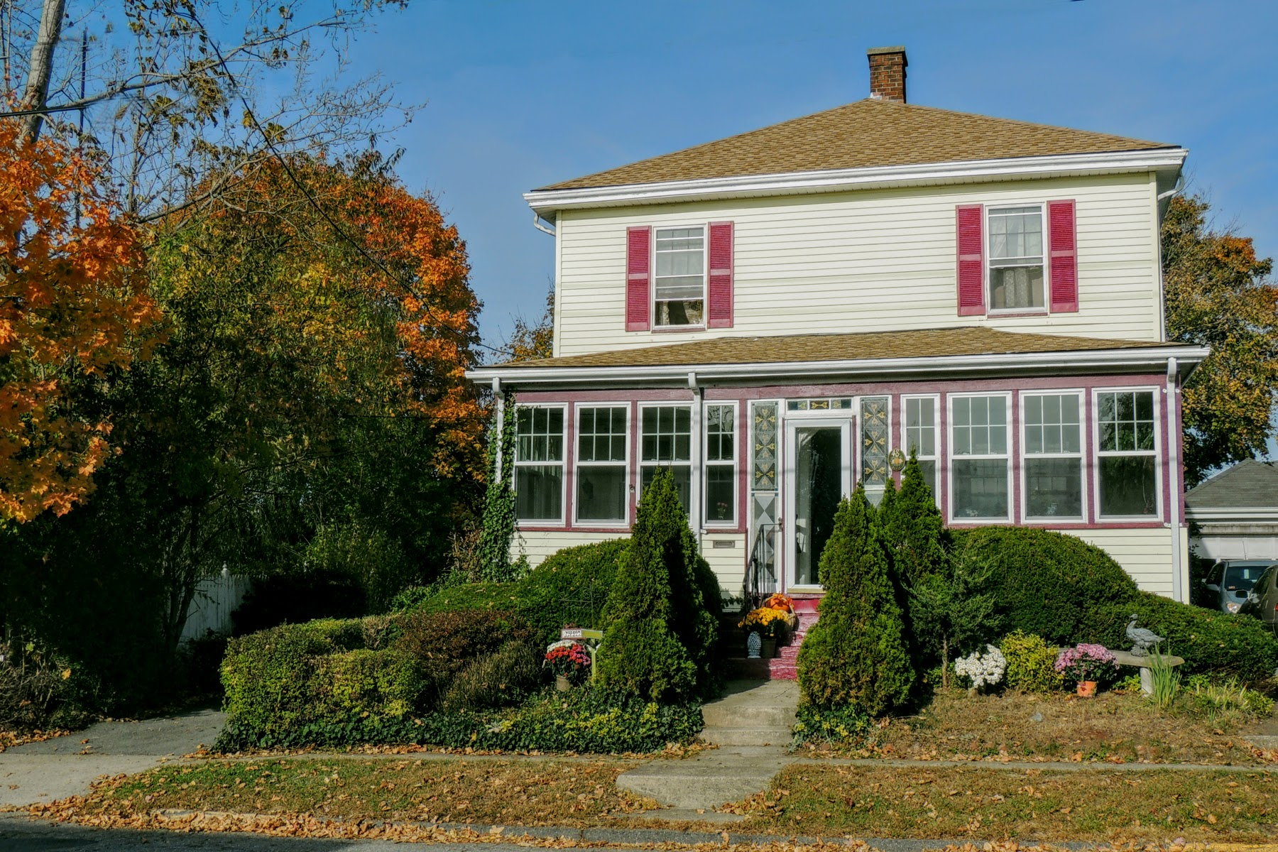Single Family Home for Sale at Off Broadway 48 Bedlow Avenue Newport, Rhode Island, 02840 United States