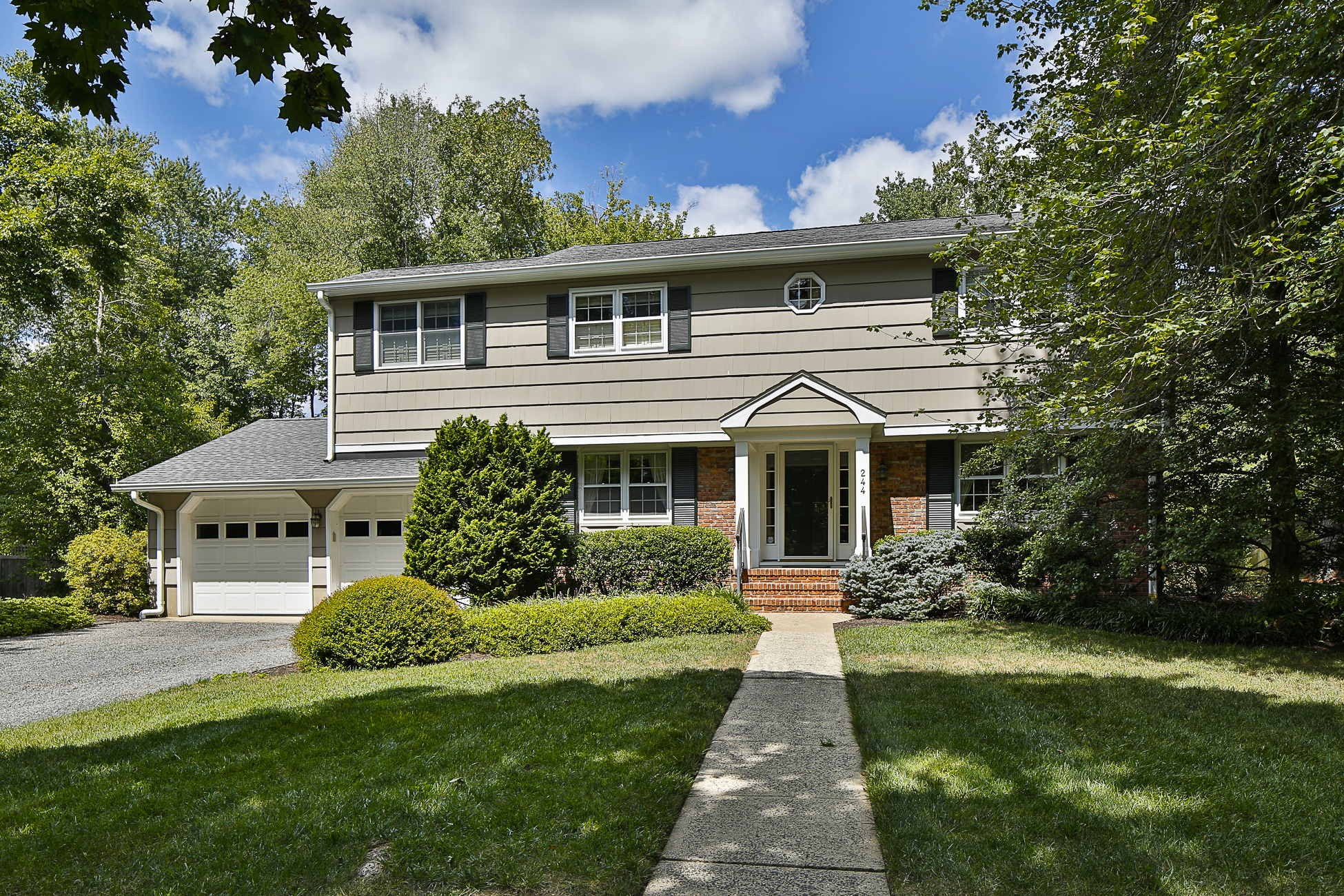 Single Family Home for Sale at Sun-Dappled Tranquility in Littlebrook 244 Dodds Lane Princeton, New Jersey 08540 United States