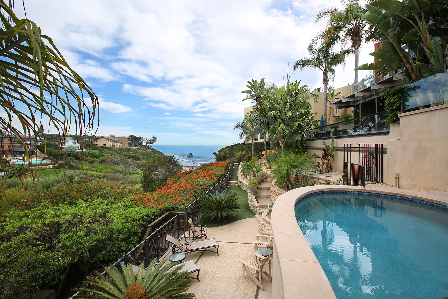 Single Family Home for Sale at Idyllic Seaside Living 218 Hazel Drive Corona Del Mar, California 92625 United States