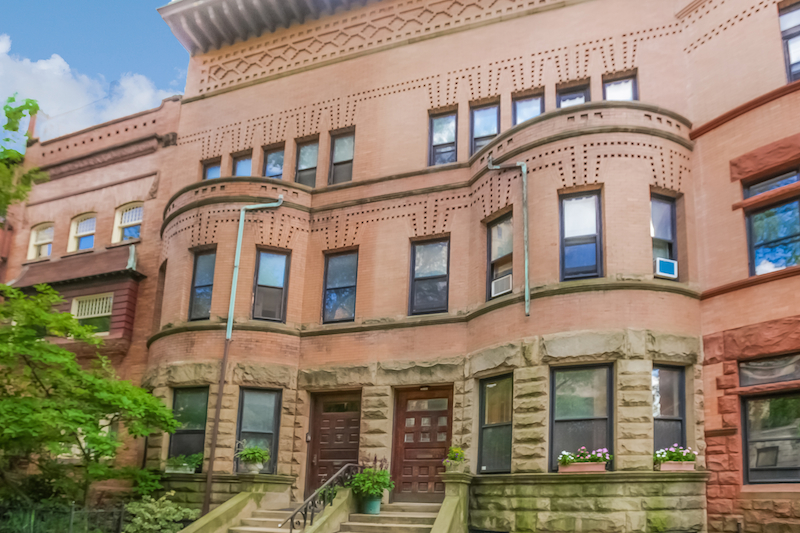 Property For Sale at Park Slope Historic District Townhouse - Bring Your Vision