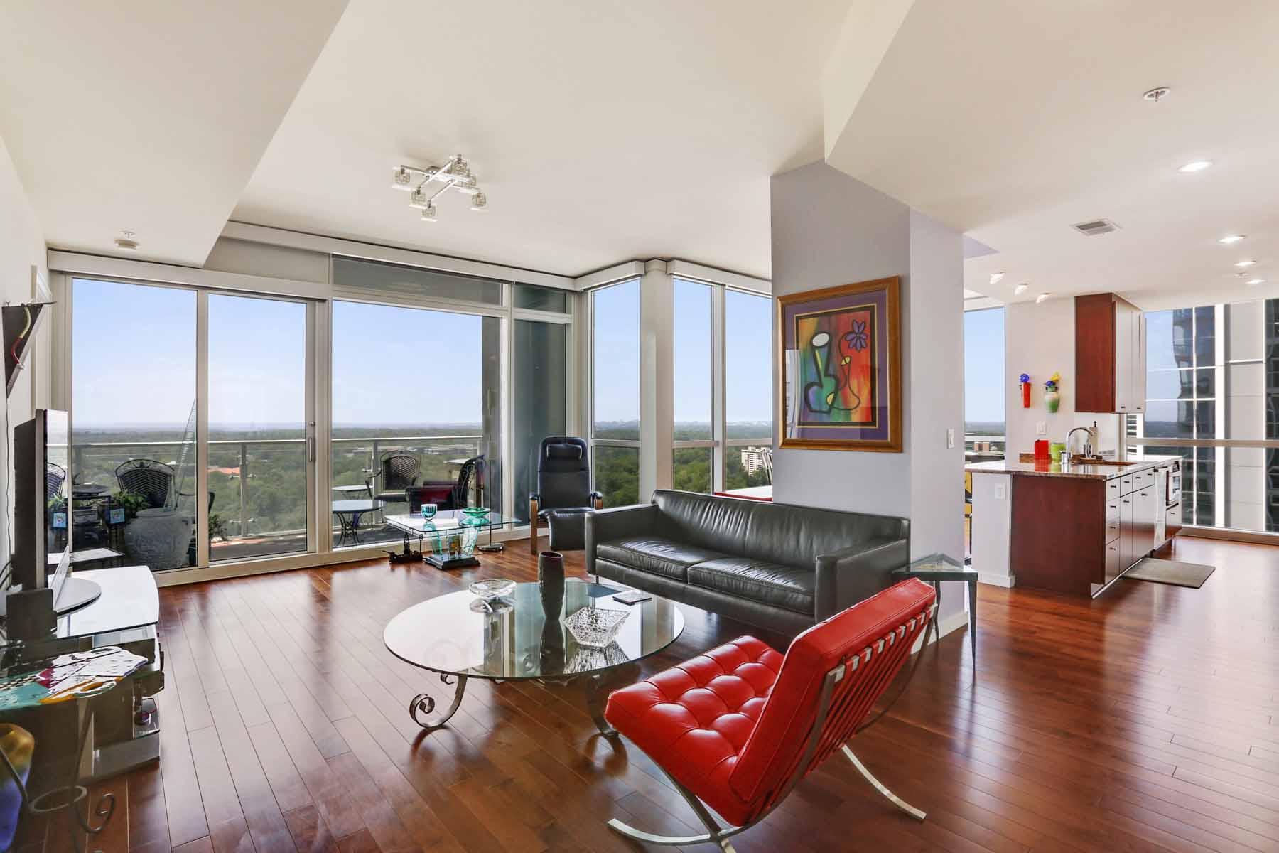 Eigentumswohnung für Verkauf beim Stunning Terminus Condo 3325 Piedmont Road NE No. 1902 Atlanta, Georgia, 30305 Vereinigte Staaten