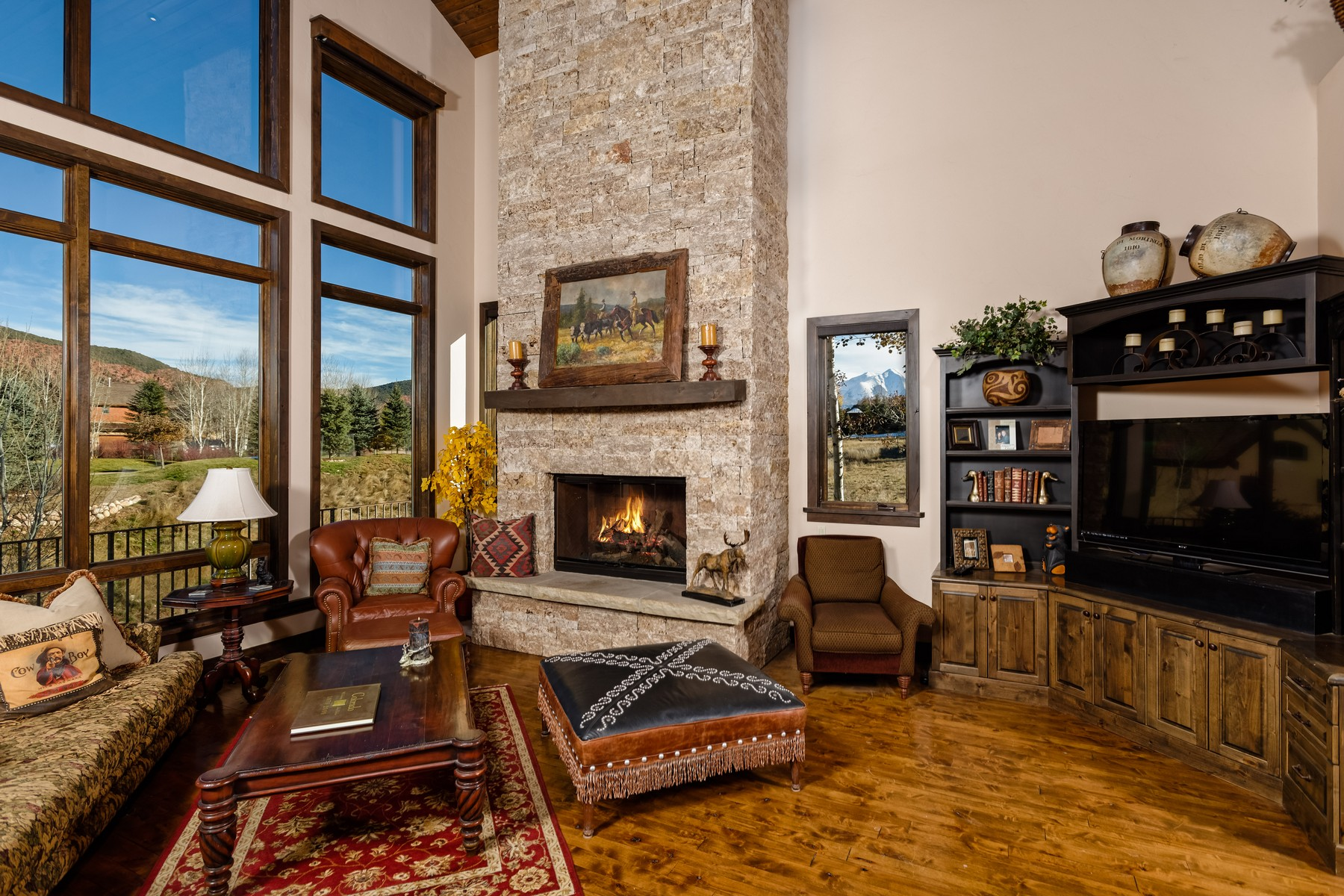 Single Family Home for Sale at Aspen Glen, Colorado 94 Midland Loop Carbondale, Colorado 81623 United States