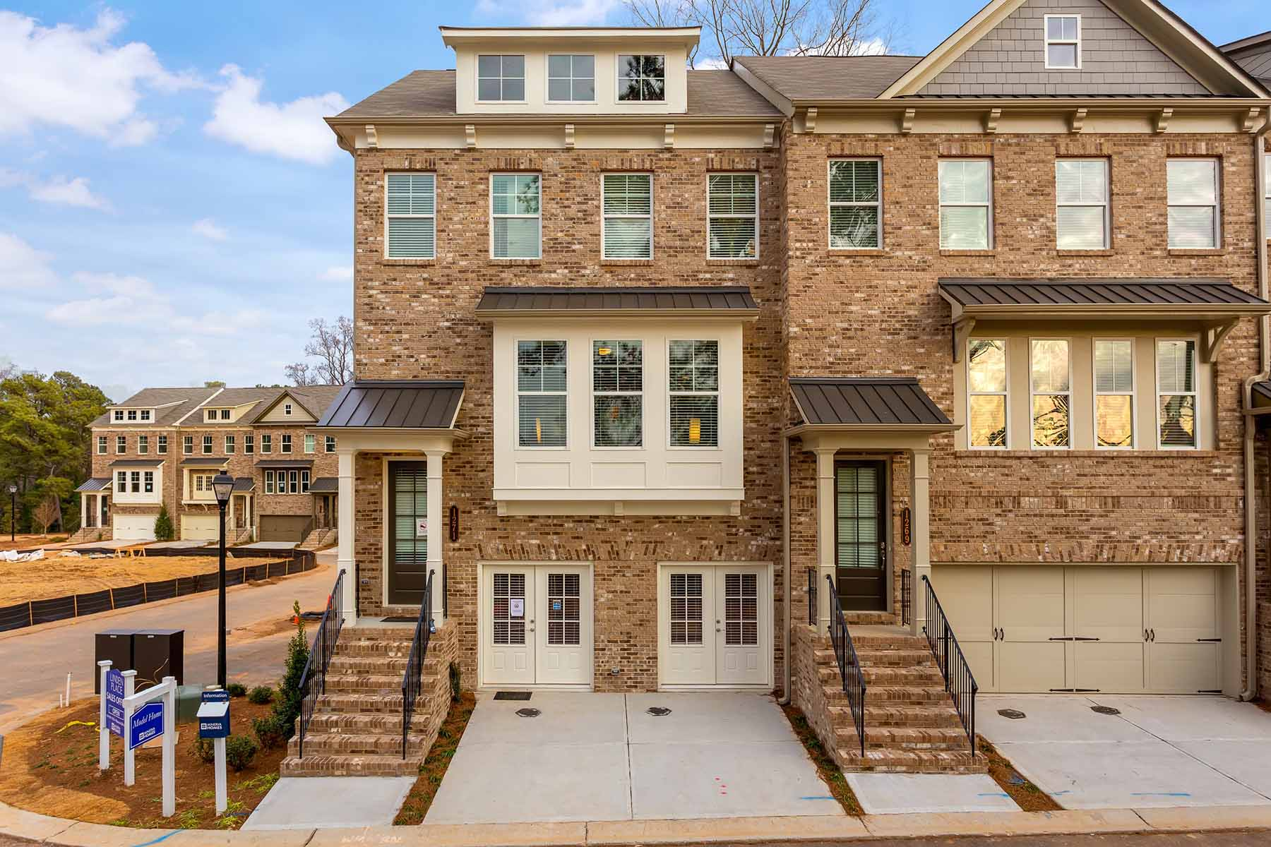 Townhouse for Sale at Linden Place offers unmatched convenience, lifestyle and luxury townhome living! 1282 Linden Court Atlanta, Georgia 30329 United States