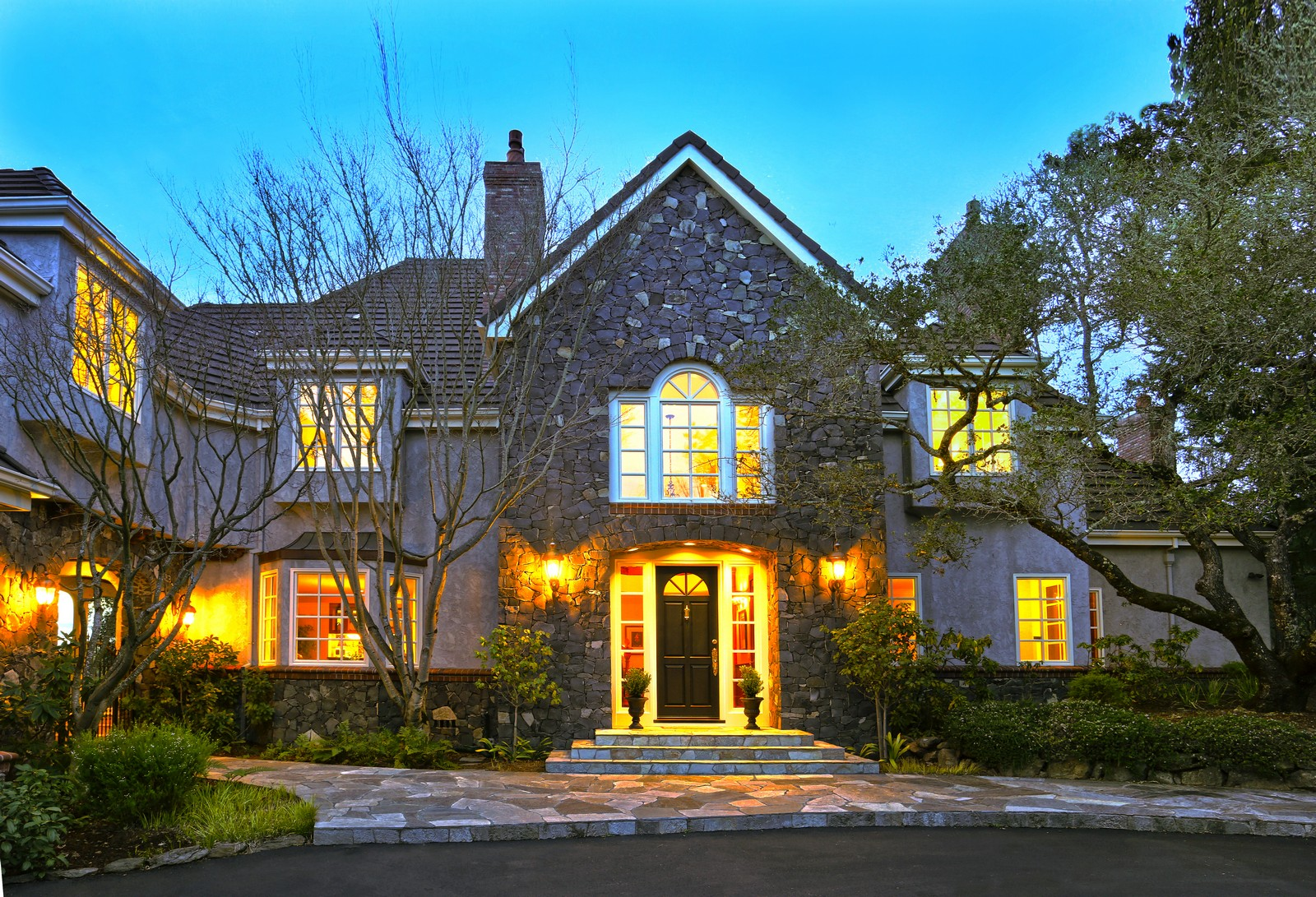 Property For Sale at Exquisite French Country Estate in Exclusive Shiloh Estates