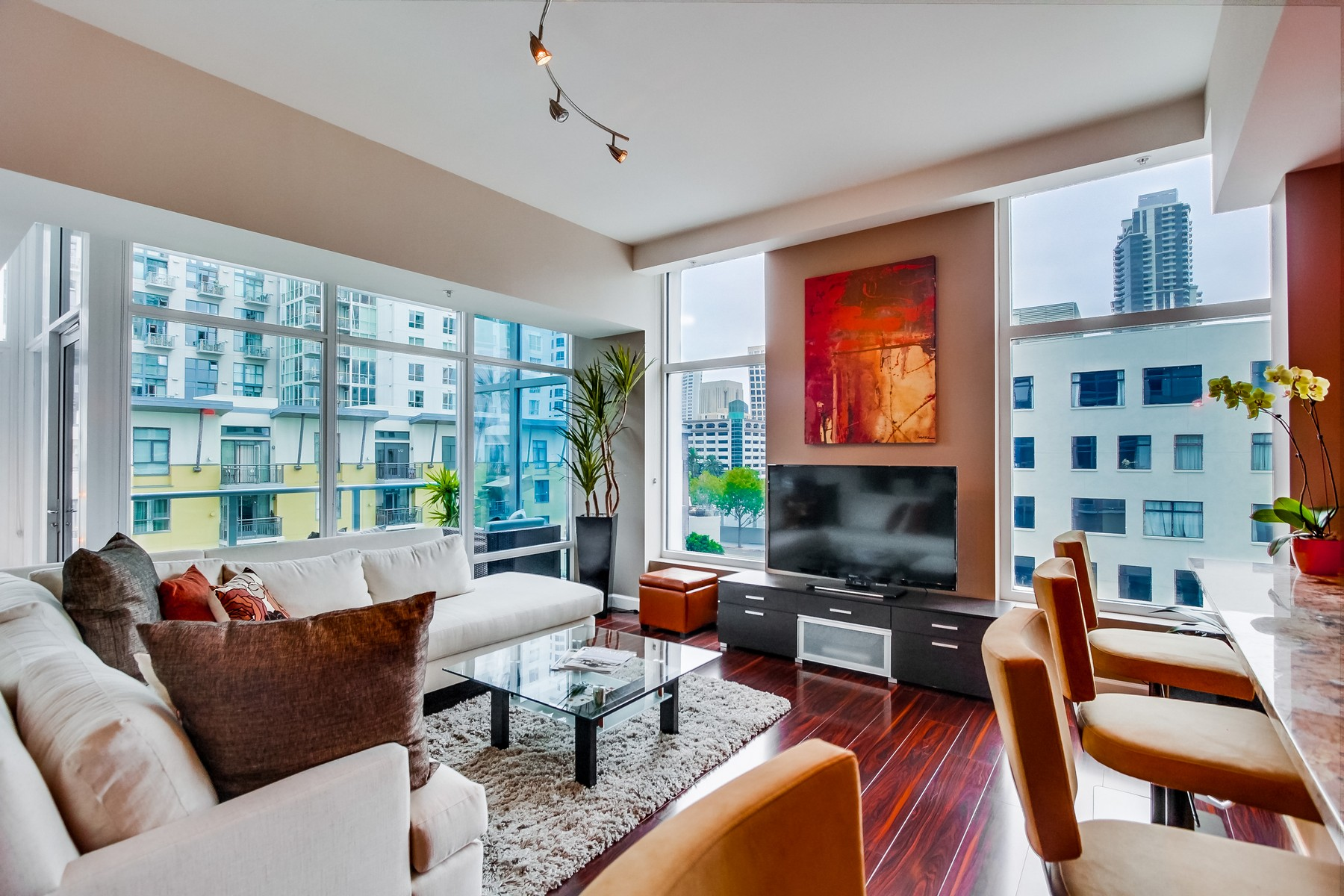 Appartement en copropriété pour l Vente à 1262 Kettner Boulevard 605 San Diego, Californie 92101 États-Unis