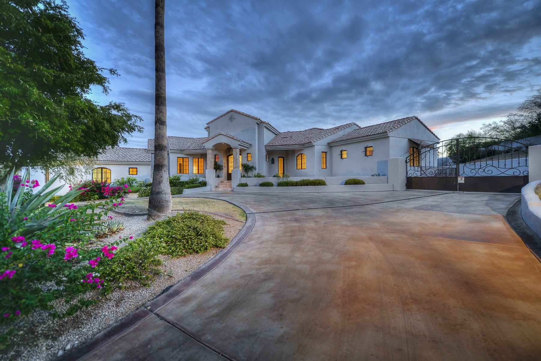 sales property at Mediterranean and beautiful guard gated paradise valley residence