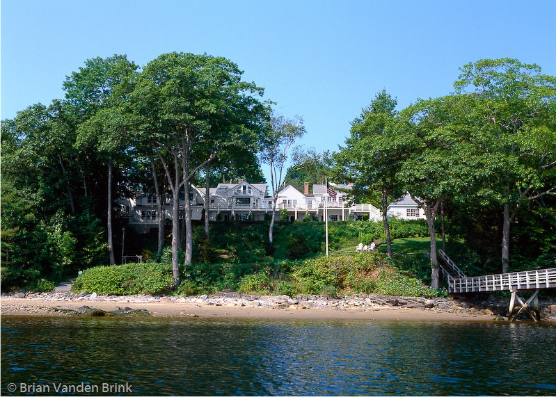 Single Family Home for Sale at Cove House 19 Sea Street Rockport, Maine 04856 United States