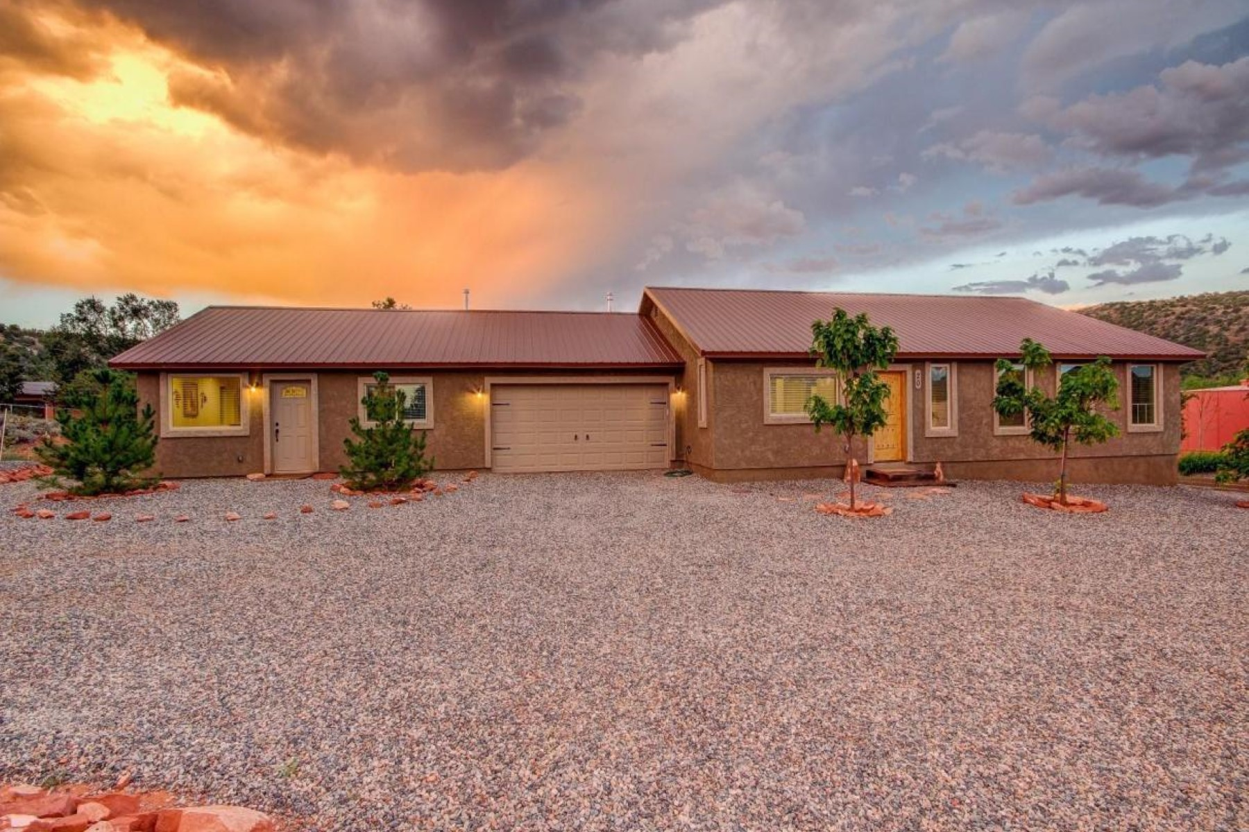 Single Family Home for Sale at Beautiful two bedroom home 20 Cascade Drive Sedona, Arizona 86336 United States