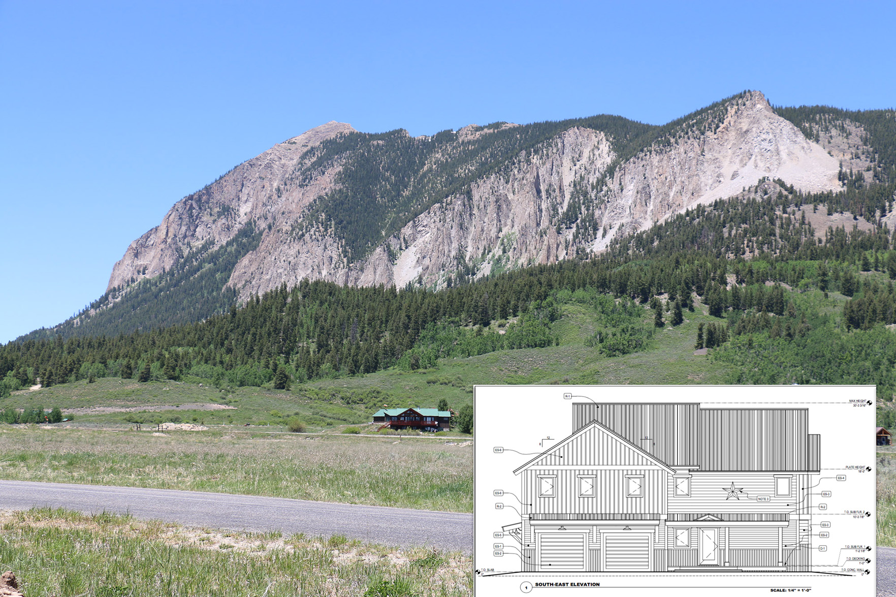 Single Family Home for Sale at Great New Home 17 Chestnut Lane Crested Butte, Colorado, 81224 United States