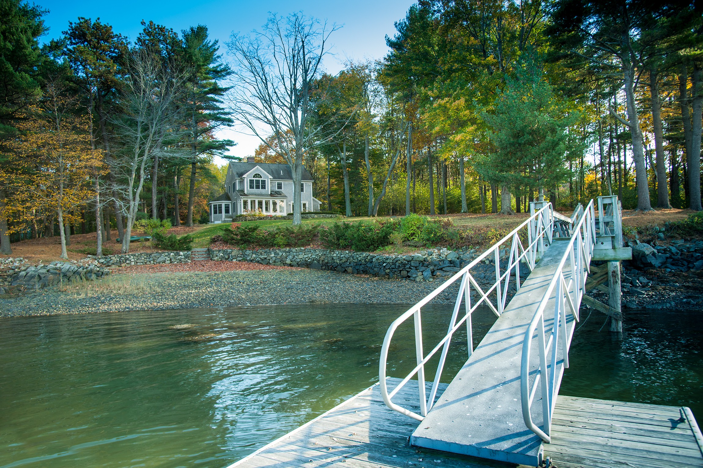 Single Family Home for Sale at Unique Kittery Point Waterfront Home on Spruce Creek 21 Folcutt Road Kittery, Maine 03905 United States