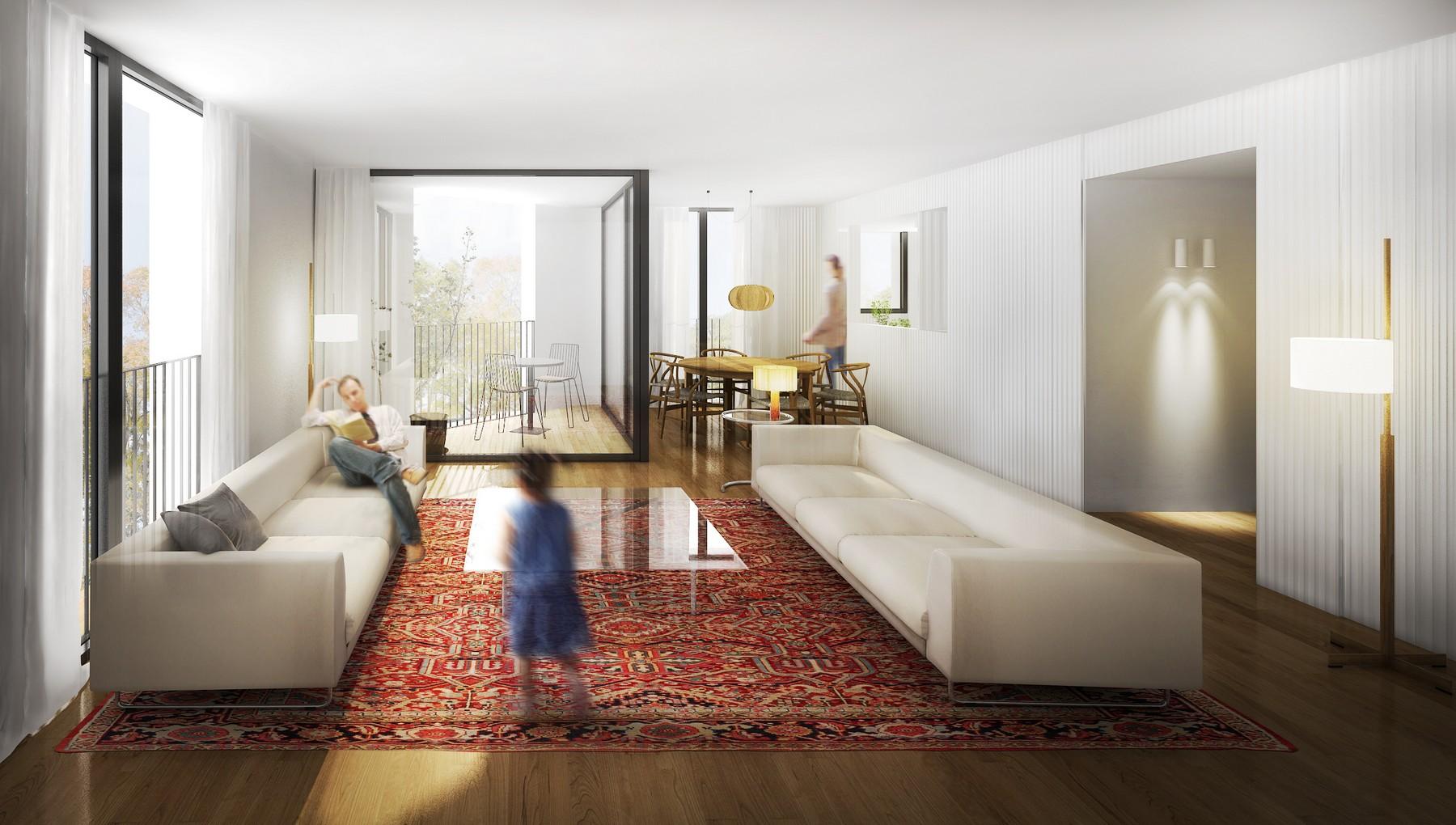 Maison unifamiliale pour l Vente à Penthouse in construction in Santa Catalina Palma, Majorque 07011 Espagne