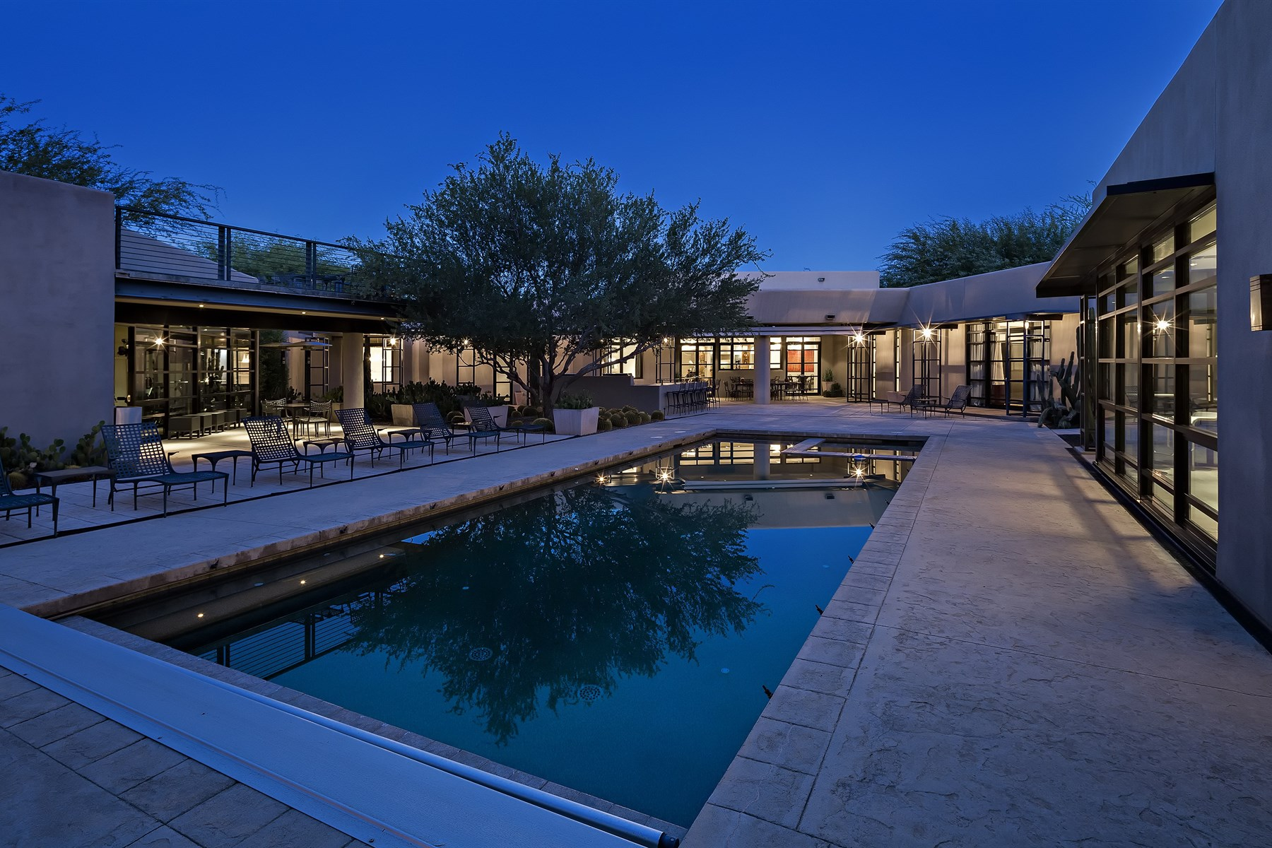 Property For Sale at sophisticated cosmopolitan residence of modern architecture in La Vista