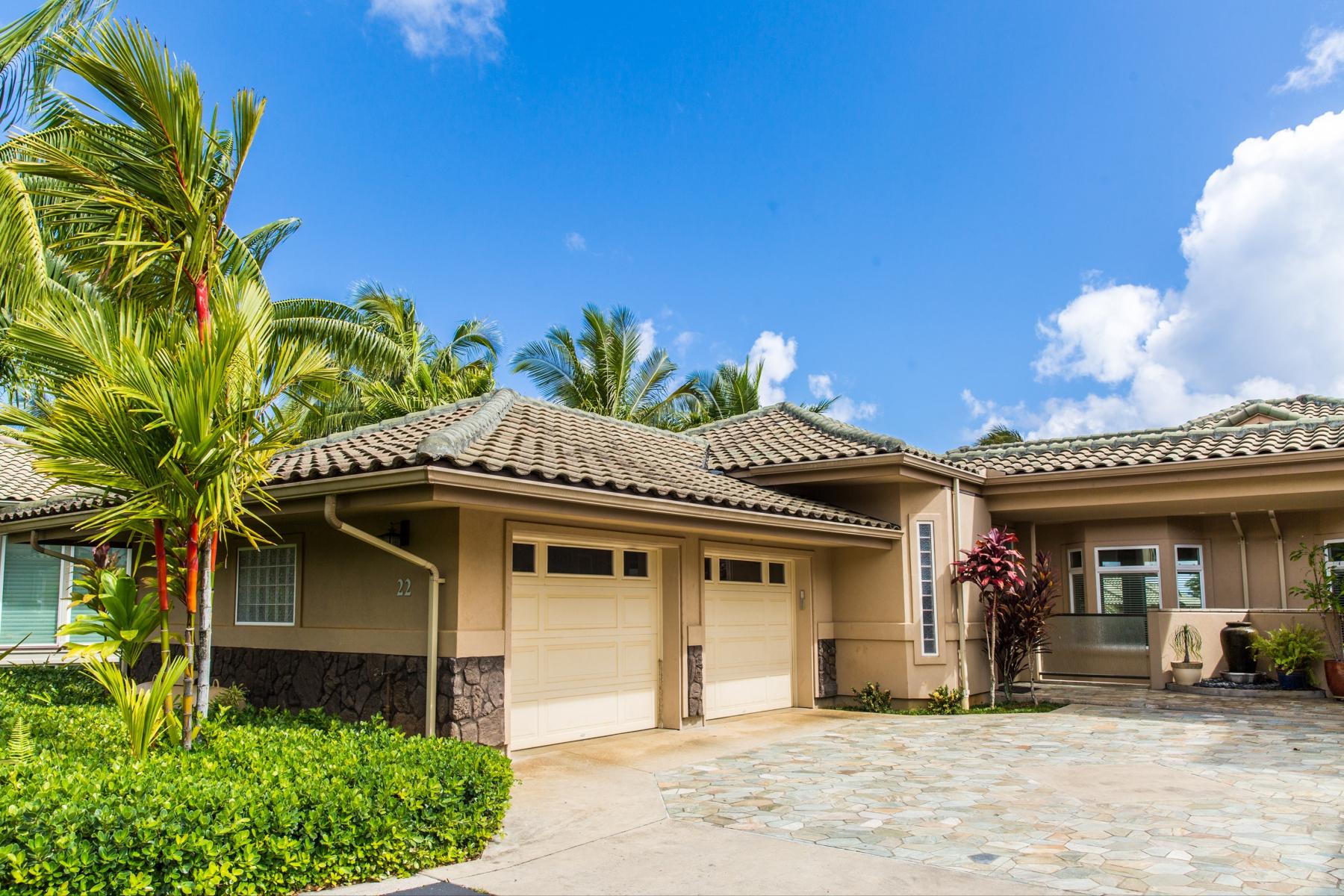 共管式独立产权公寓 为 销售 在 Ka'iulani of Princeville #22 4100 Queen Emmas Dr. #22 普林斯维尔, 夏威夷, 96722 美国