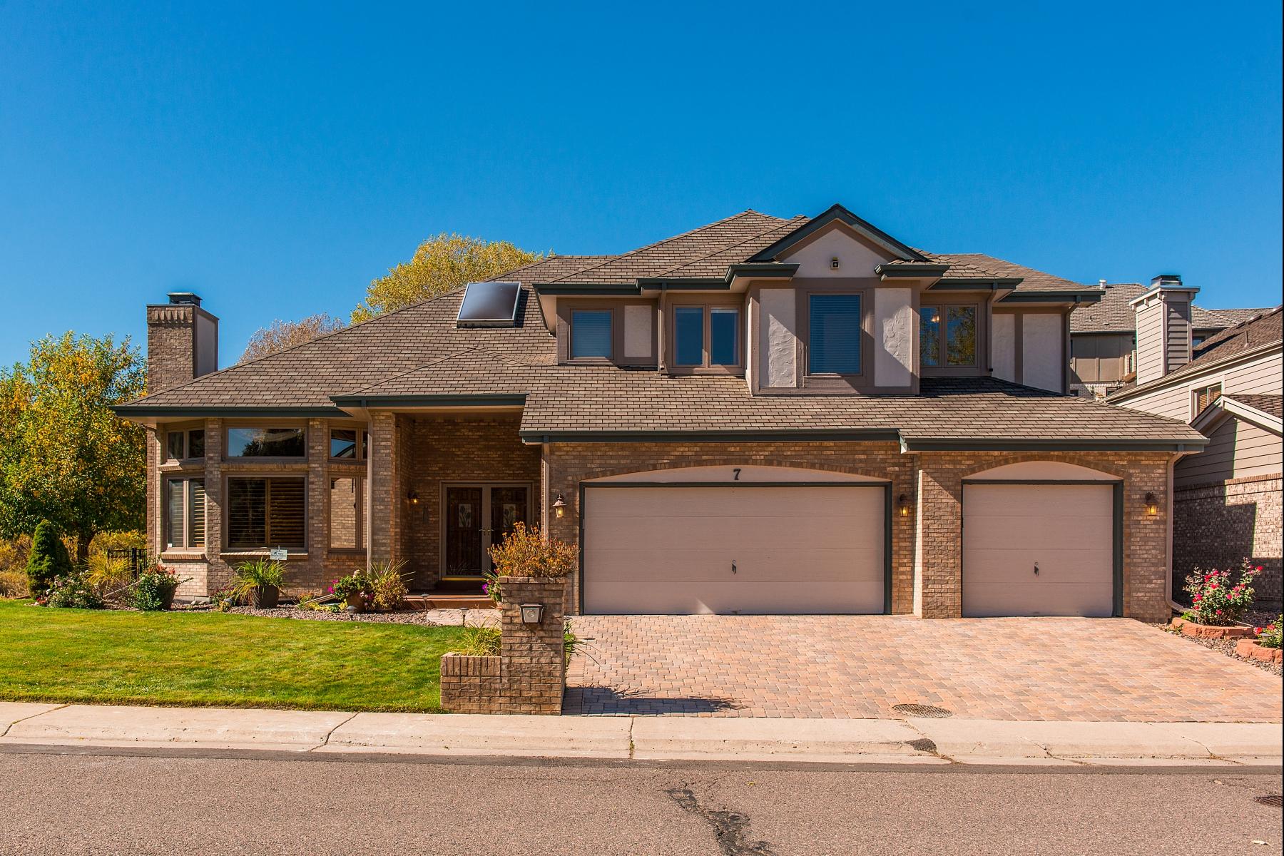 獨棟家庭住宅 為 出售 在 Beautiful Custom Home 7 Mc Intyre Circle Golden, 科羅拉多州 80401 美國