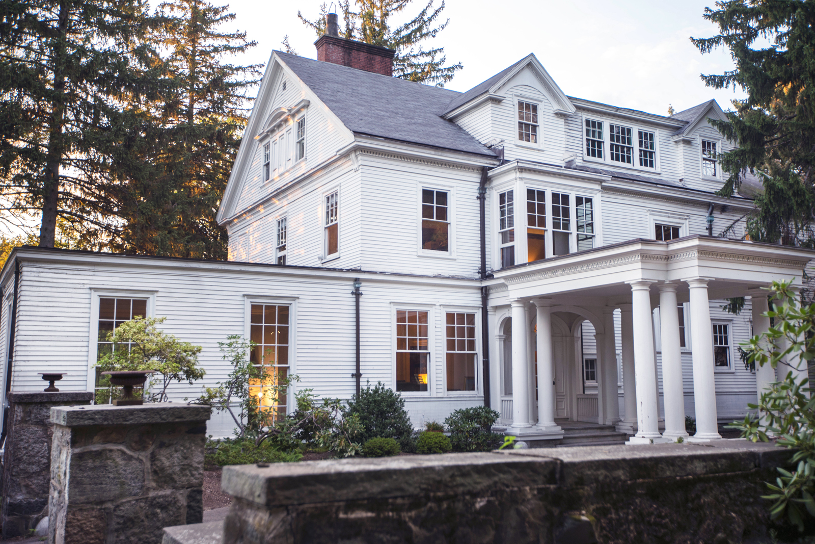 sales property at Stately Classic Revival Home
