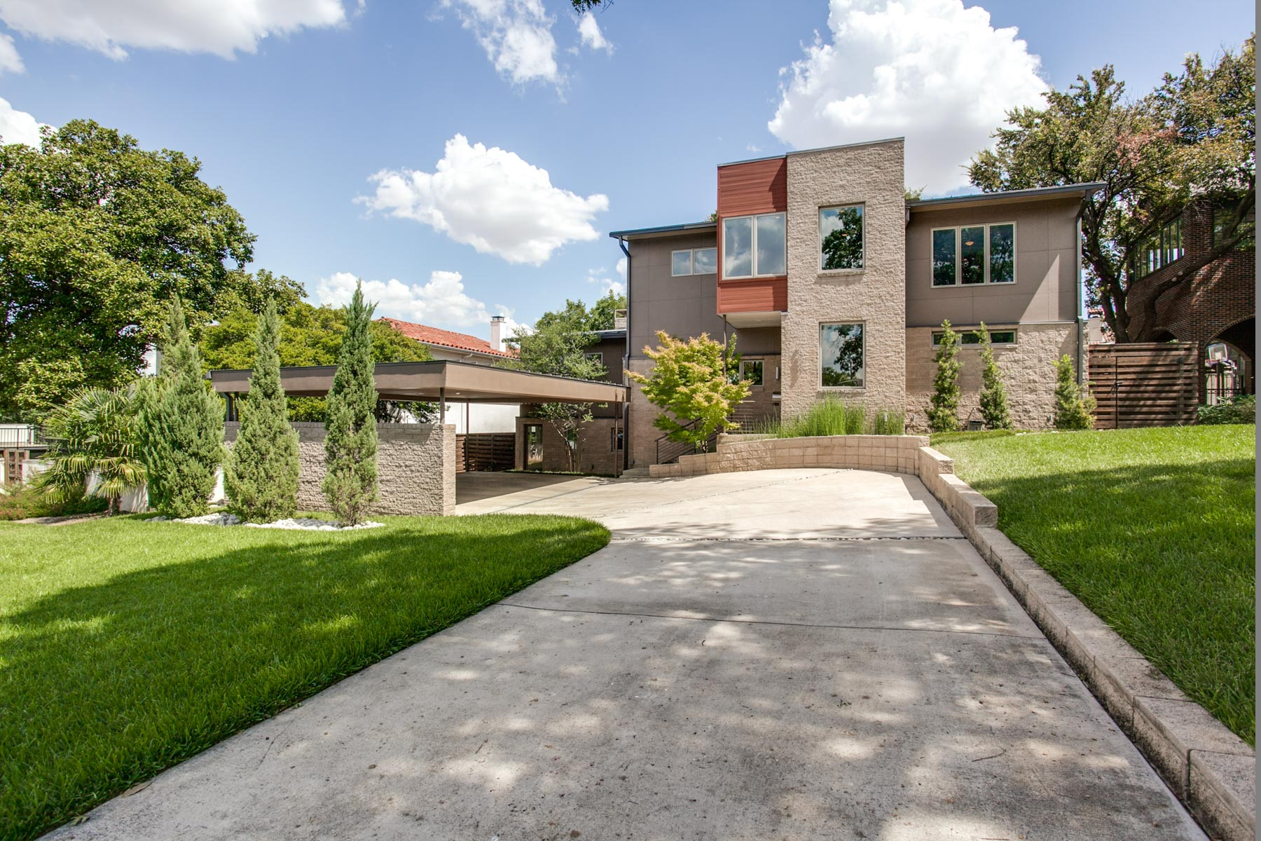 Single Family Home for Sale at Lakewood Contemporary 7326 Lakewood Boulevard Dallas, Texas, 75214 United States