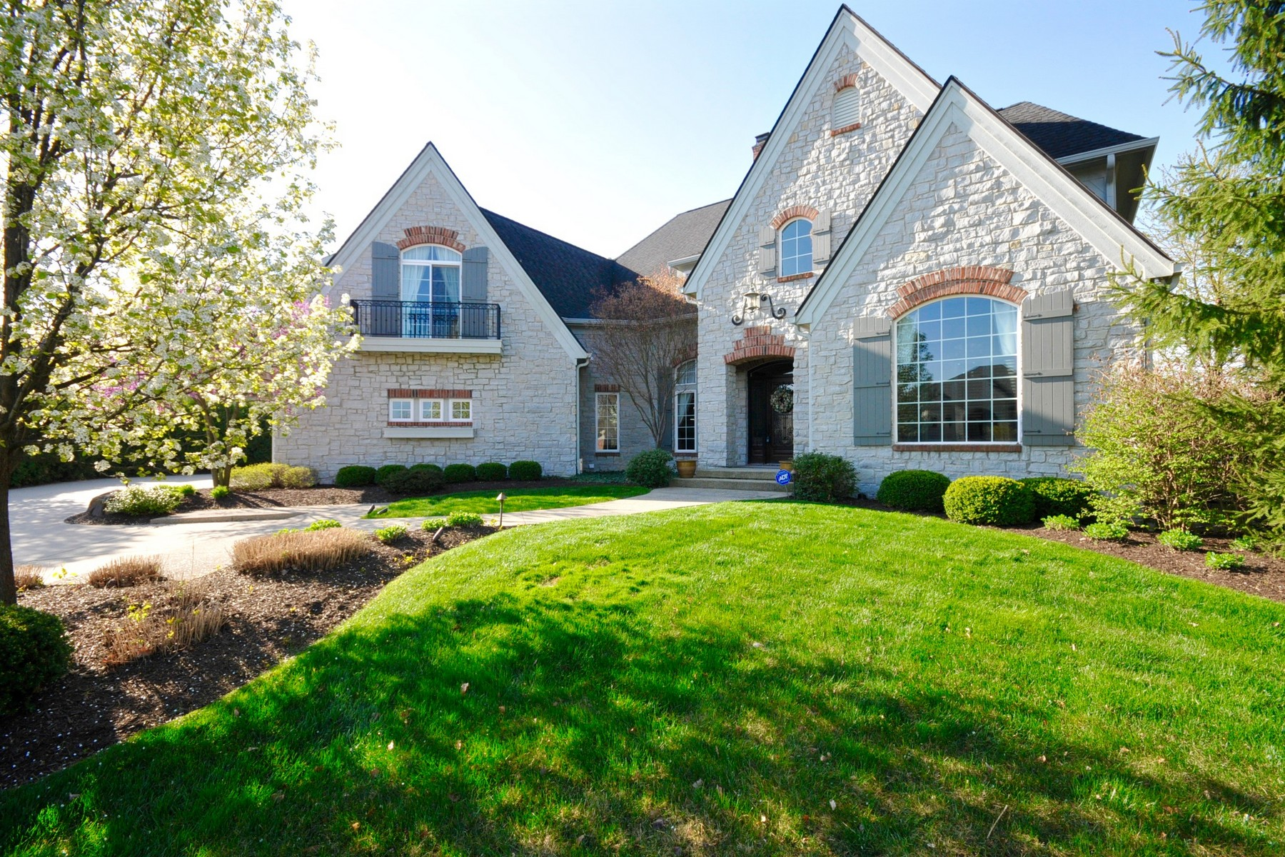 Single Family Home for Sale at French Country Luxury Cottage 3809 Falls Cir Carmel, Indiana 46033 United States