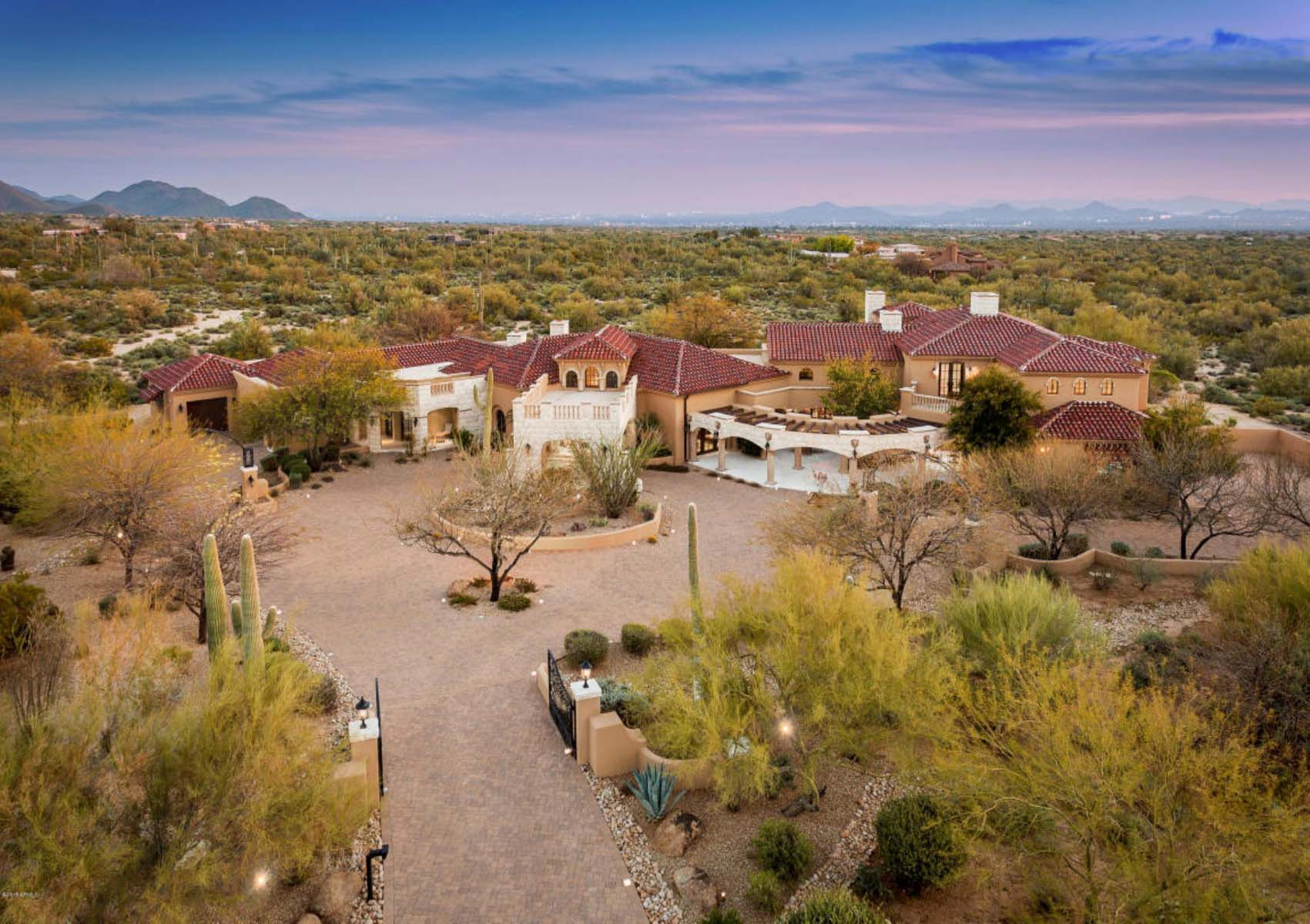 Single Family Home for Sale at Emboldened with everything one could ever imagine in a home. 27929 N 91ST ST Scottsdale, Arizona 85262 United States