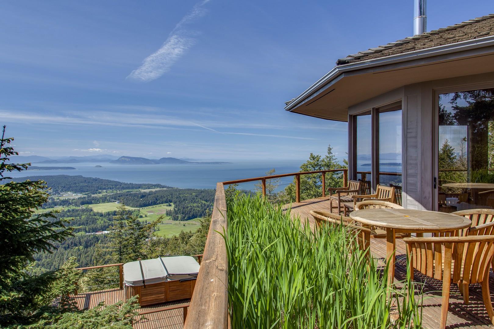 独户住宅 为 销售 在 1708 Buck Mountain Road, Orcas Island 98245-5024 东松德, 华盛顿州, 98245 美国