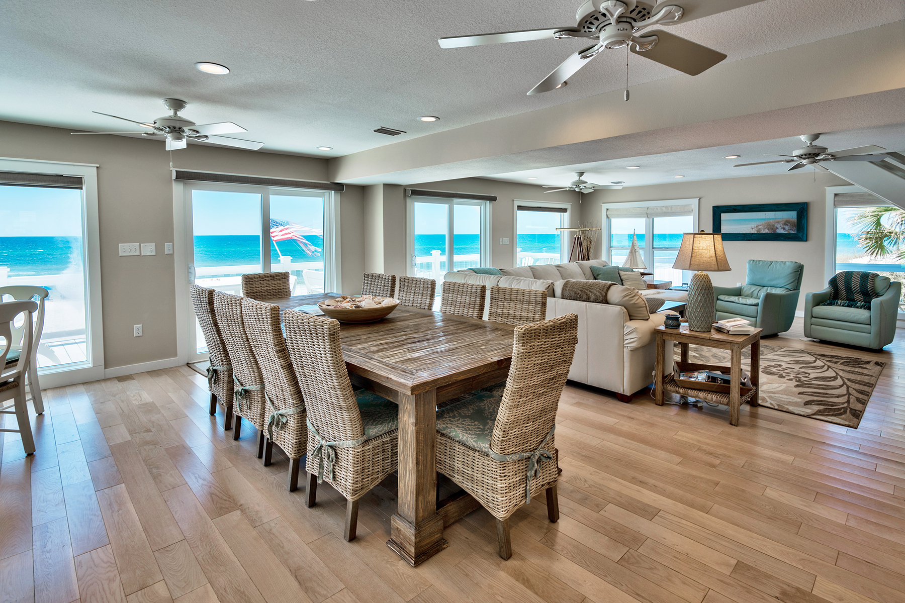 sales property at TRADITIONAL GULF FRONT BEACH HOME