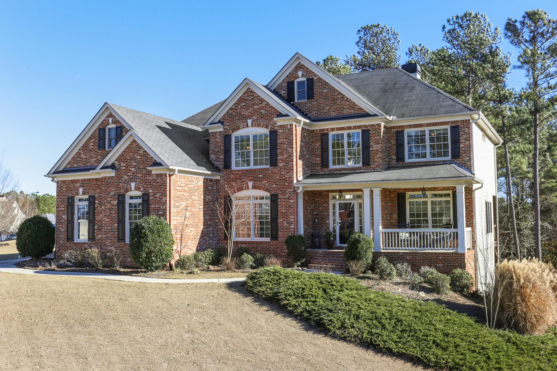 獨棟家庭住宅 為 出售 在 Southern Class In Desirable Seven Hills 94 Calming Water Trail Dallas, 喬治亞州, 30132 美國