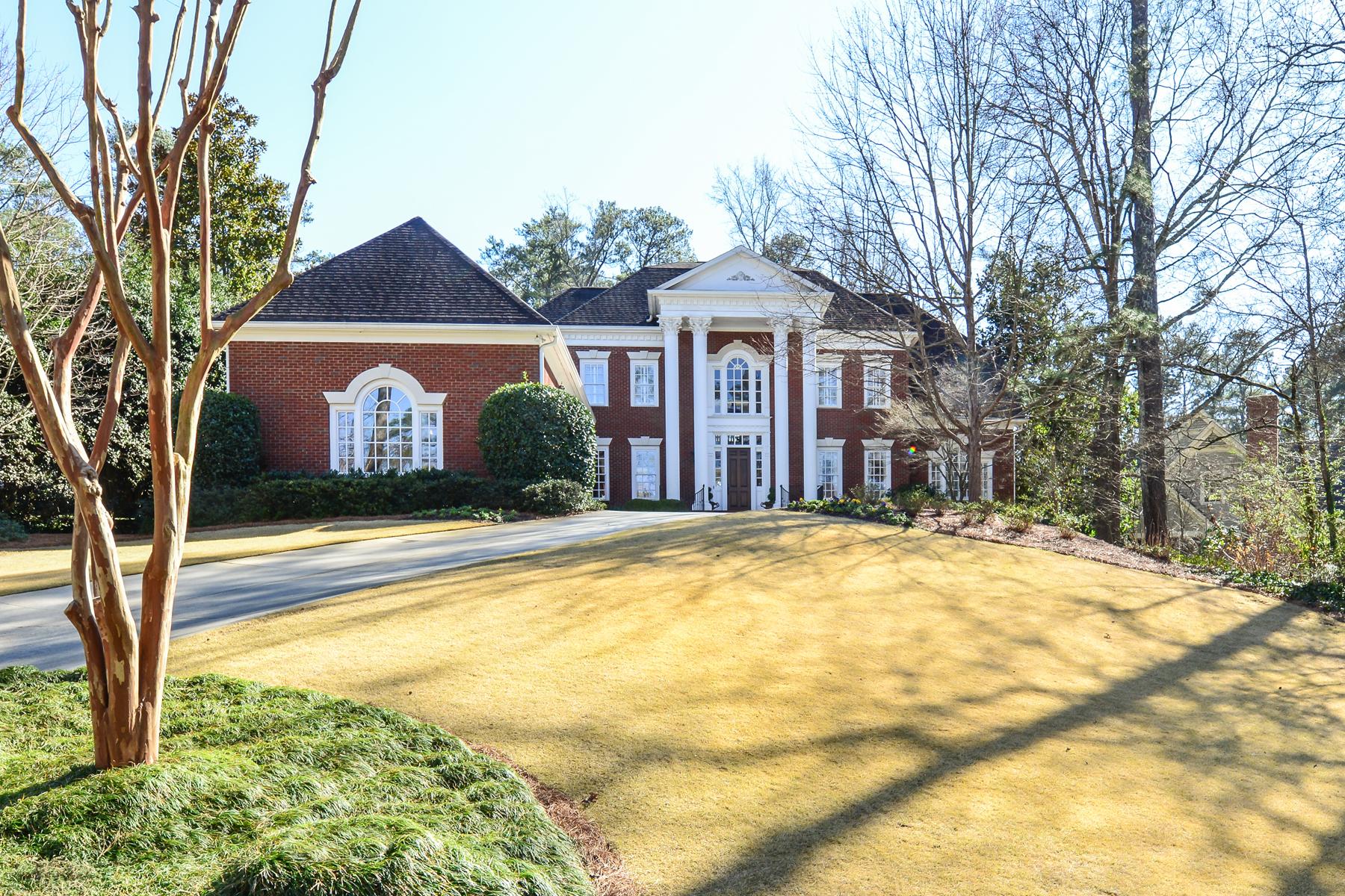 Частный односемейный дом для того Продажа на Stunning Historic Brookhaven Home 4385 Davidson Avenue Atlanta, Джорджия, 30319 Соединенные Штаты