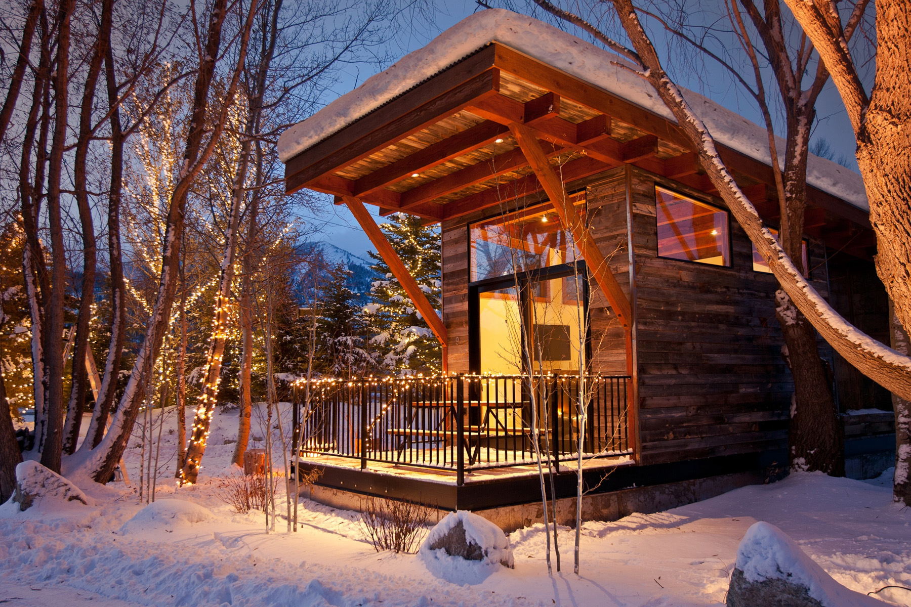 sales property at Fireside Resort Luxury Cabins