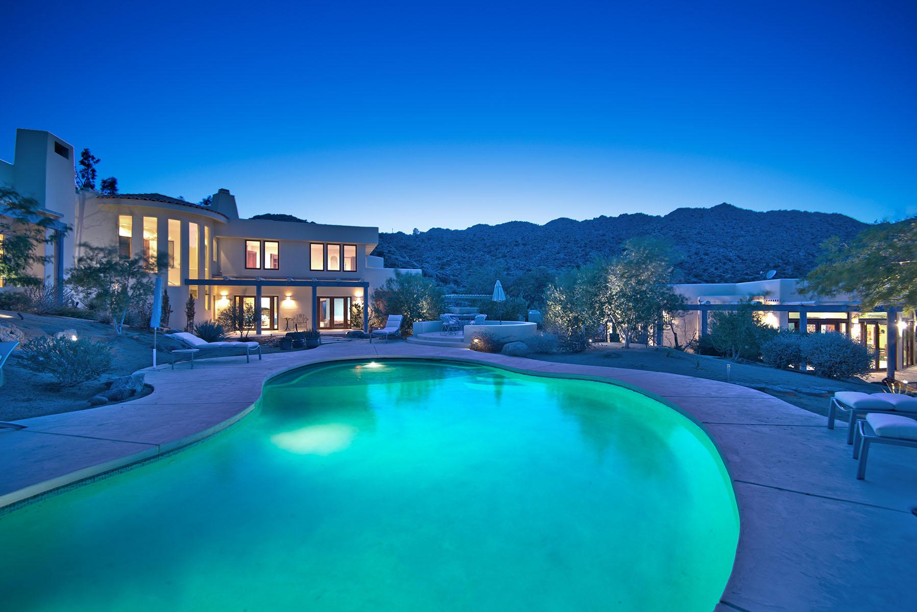 Maison unifamiliale pour l Vente à 57425 Palm Seco Circle Mountain Center, Californie 92561 États-Unis