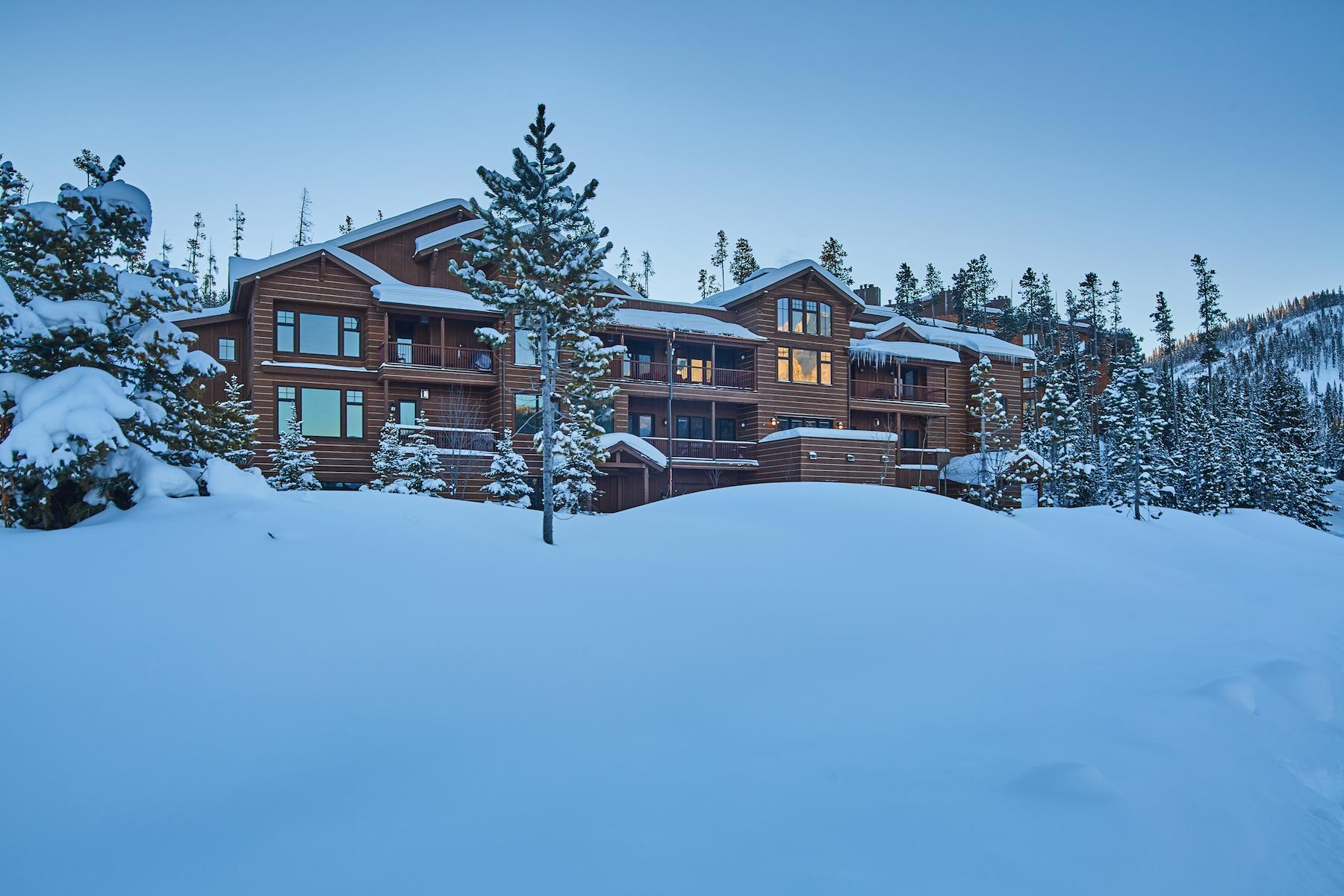 共管物業 為 出售 在 Mountain Lake Condo 203A 2 Summit View Dr. Unit 203A Big Sky, 蒙大拿州 59716 美國