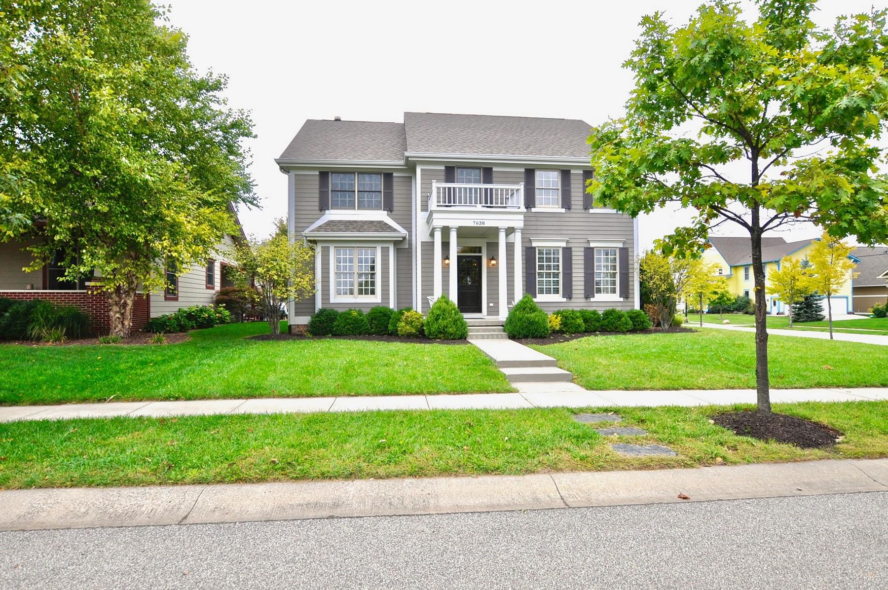 Tek Ailelik Ev için Satış at Beautiful Renovation 7638 The Commons Zionsville, Indiana, 46077 Amerika Birleşik Devletleri