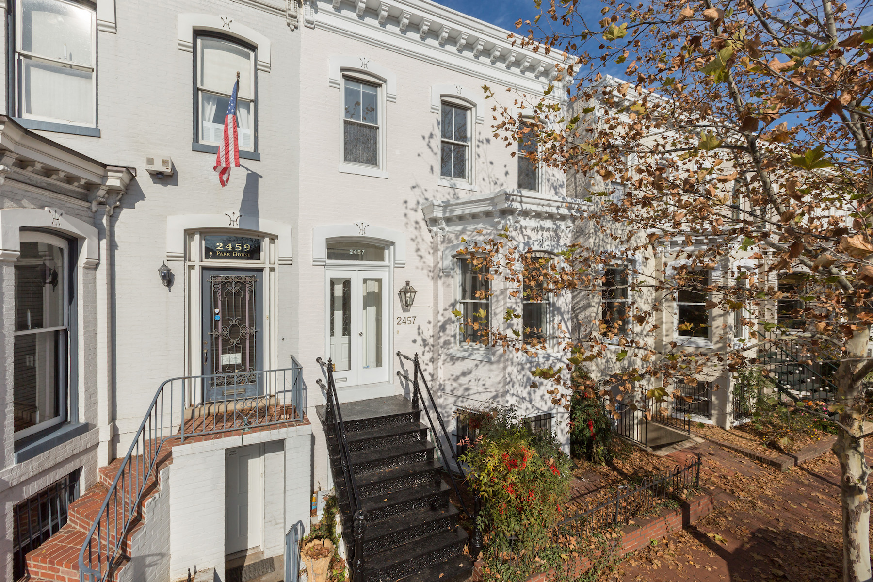Townhouse for Sale at Georgetown 2457 P Street Nw Washington, District Of Columbia 20007 United States