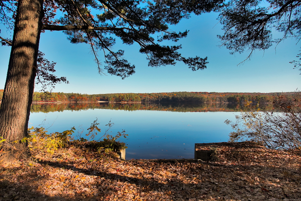Property For Sale at Seasonal cottage with 100 feet of frontage on Bear Hill Pond.