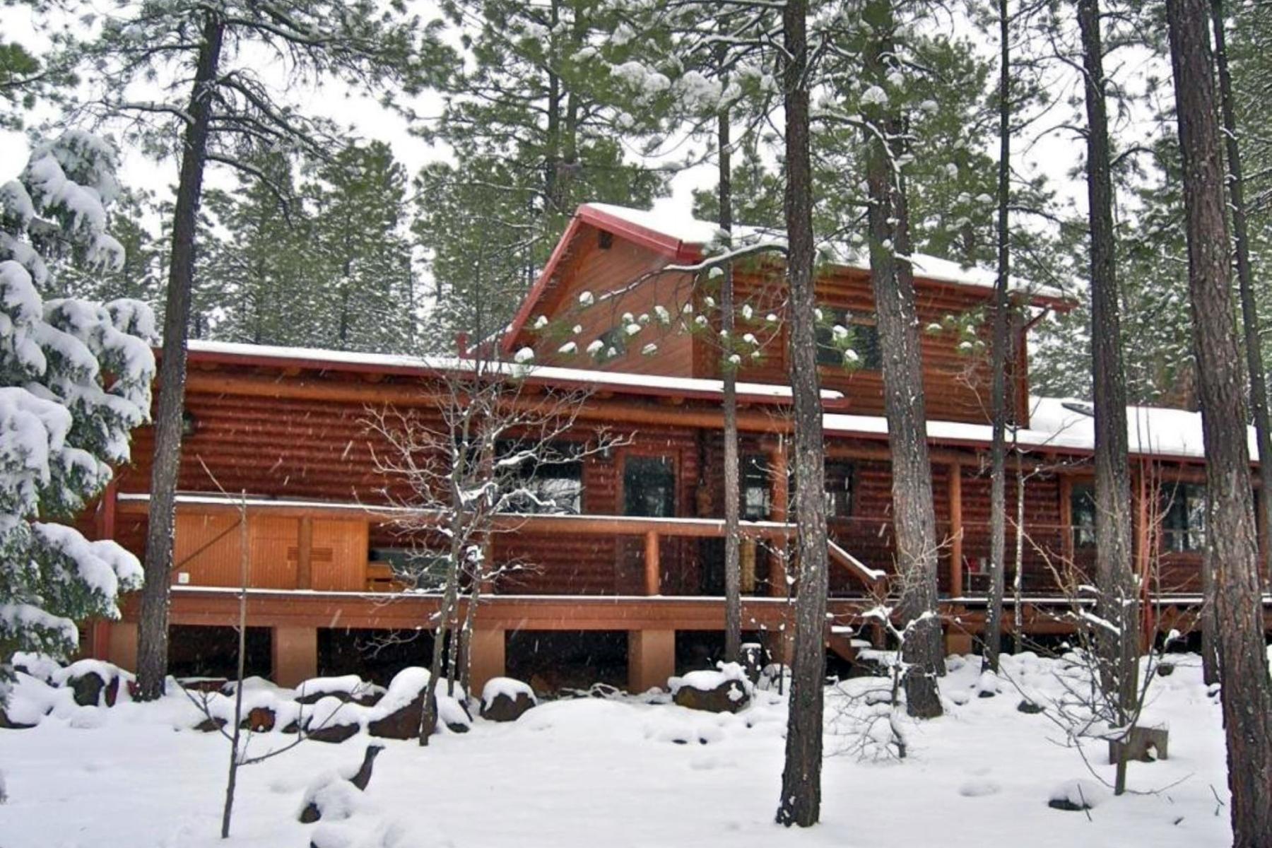 단독 가정 주택 용 매매 에 White Mountain Summer Homes 3372 Bluegill Drive Pinetop, 아리조나 85935 미국
