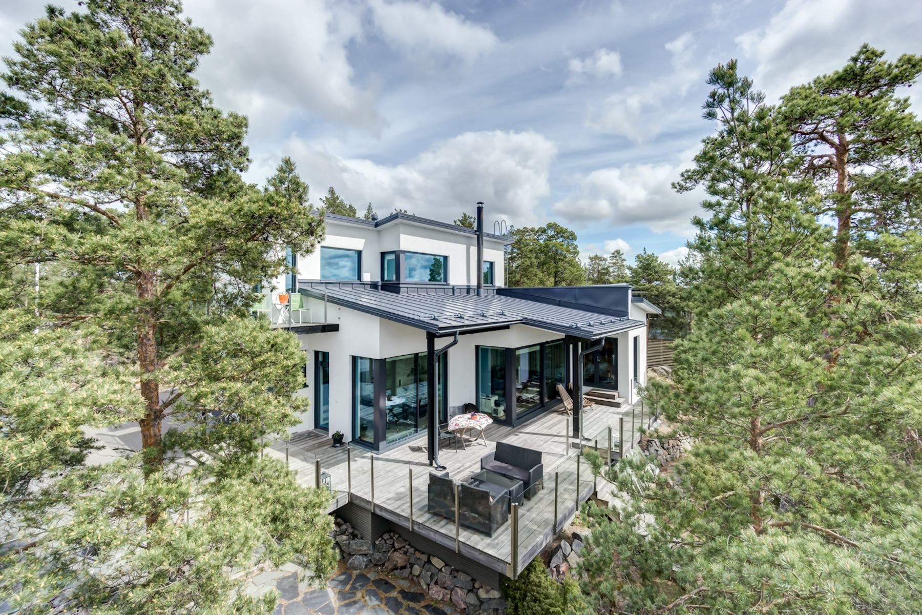 Villa per Vendita alle ore Exquisite villa with panoramic sea view Virvenrinne 10 A Other Cities In Finland, Cities In Finland, 21100 Finland