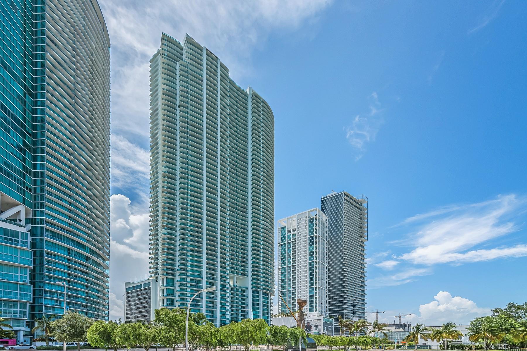 Кооперативная квартира для того Продажа на 900 Biscayne Blvd #2308 Miami, Флорида 33132 Соединенные Штаты